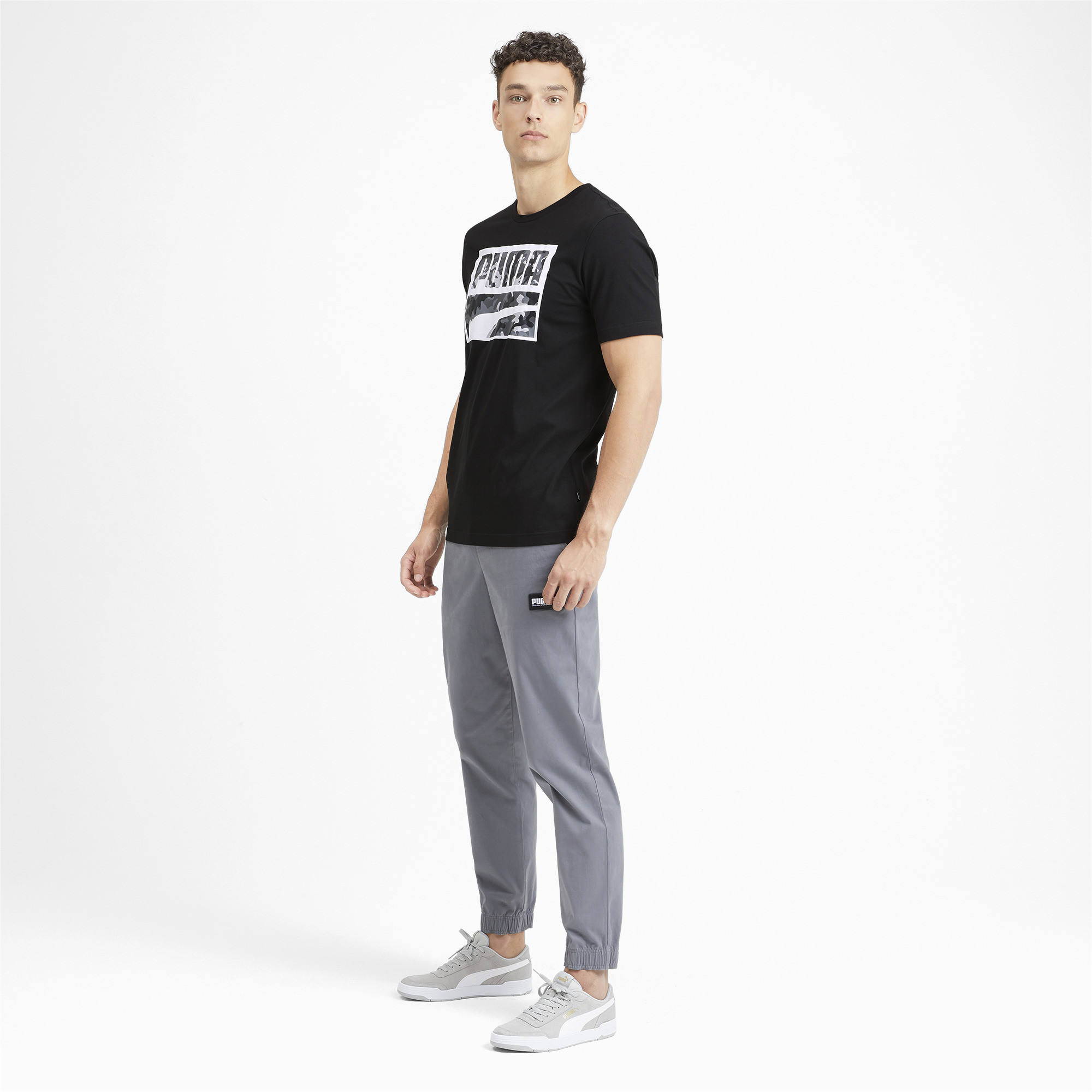 PUMA-Rebel-Camo-Filled-Men-039-s-Tee-Men-Tee-Basics thumbnail 6