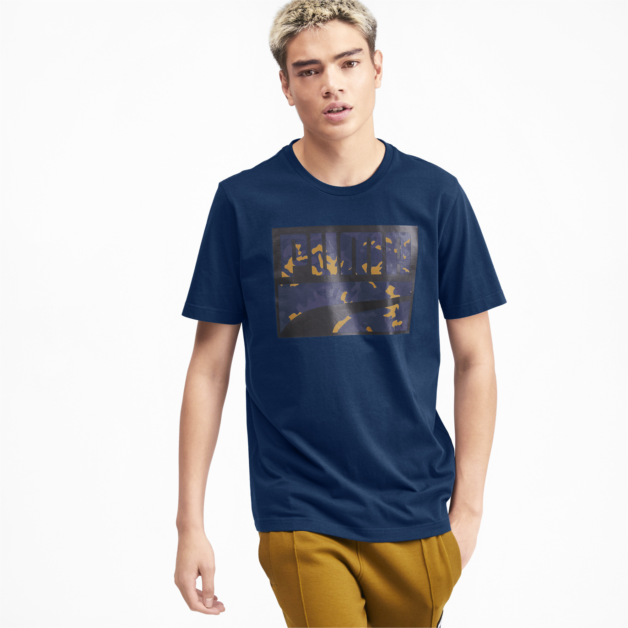 PUMA-Rebel-Camo-Filled-Men-039-s-Tee-Men-Tee-Basics thumbnail 14