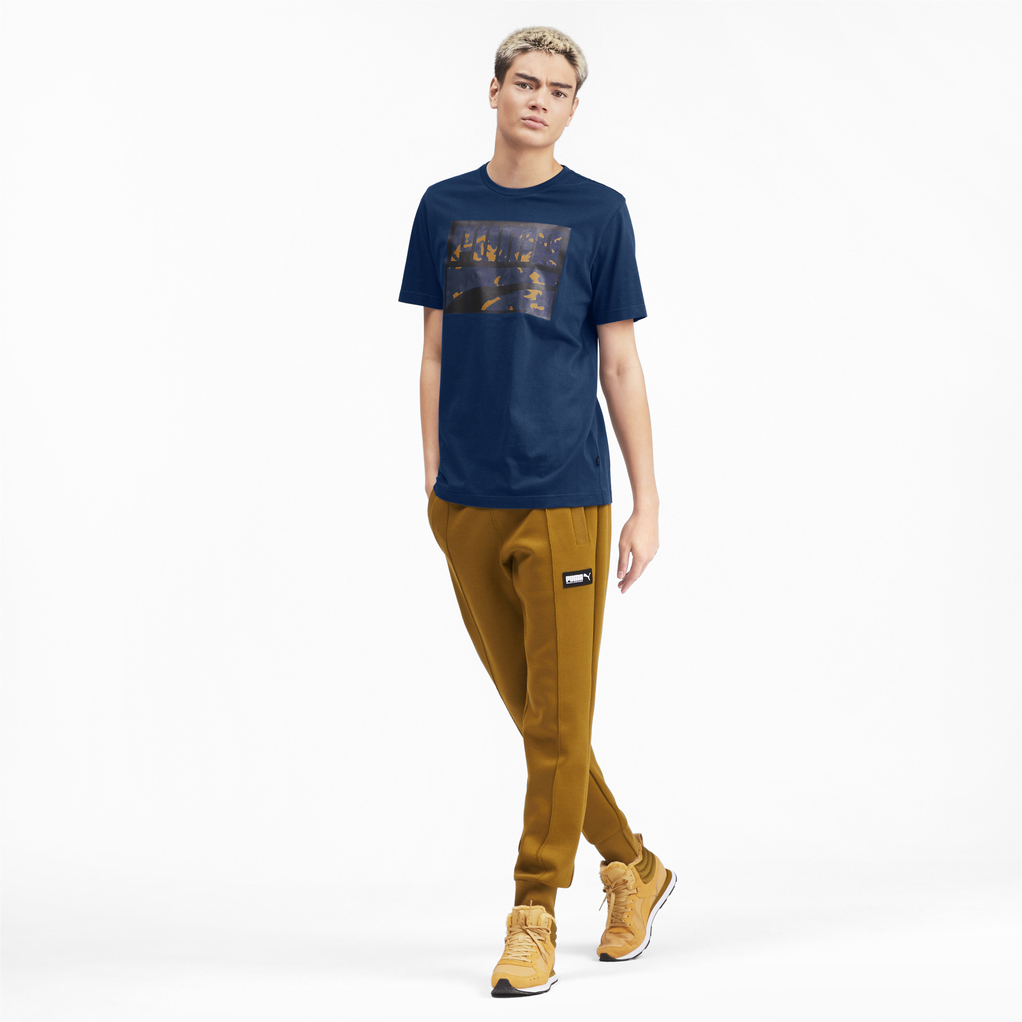 PUMA-Rebel-Camo-Filled-Men-039-s-Tee-Men-Tee-Basics thumbnail 16