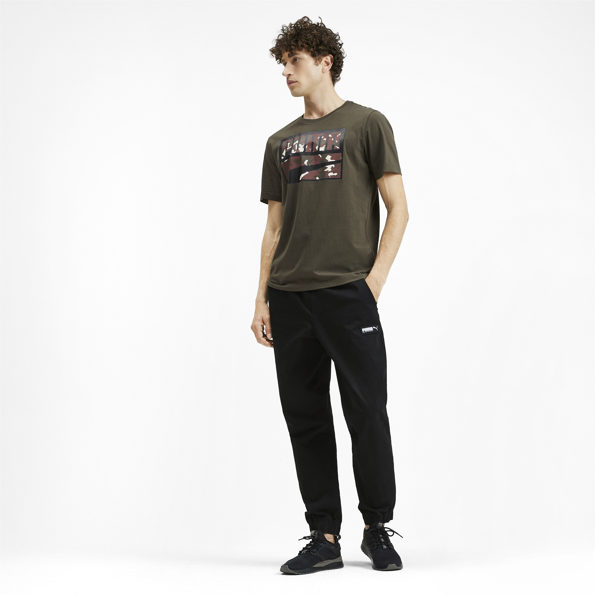 PUMA-Rebel-Camo-Filled-Men-039-s-Tee-Men-Tee-Basics thumbnail 11