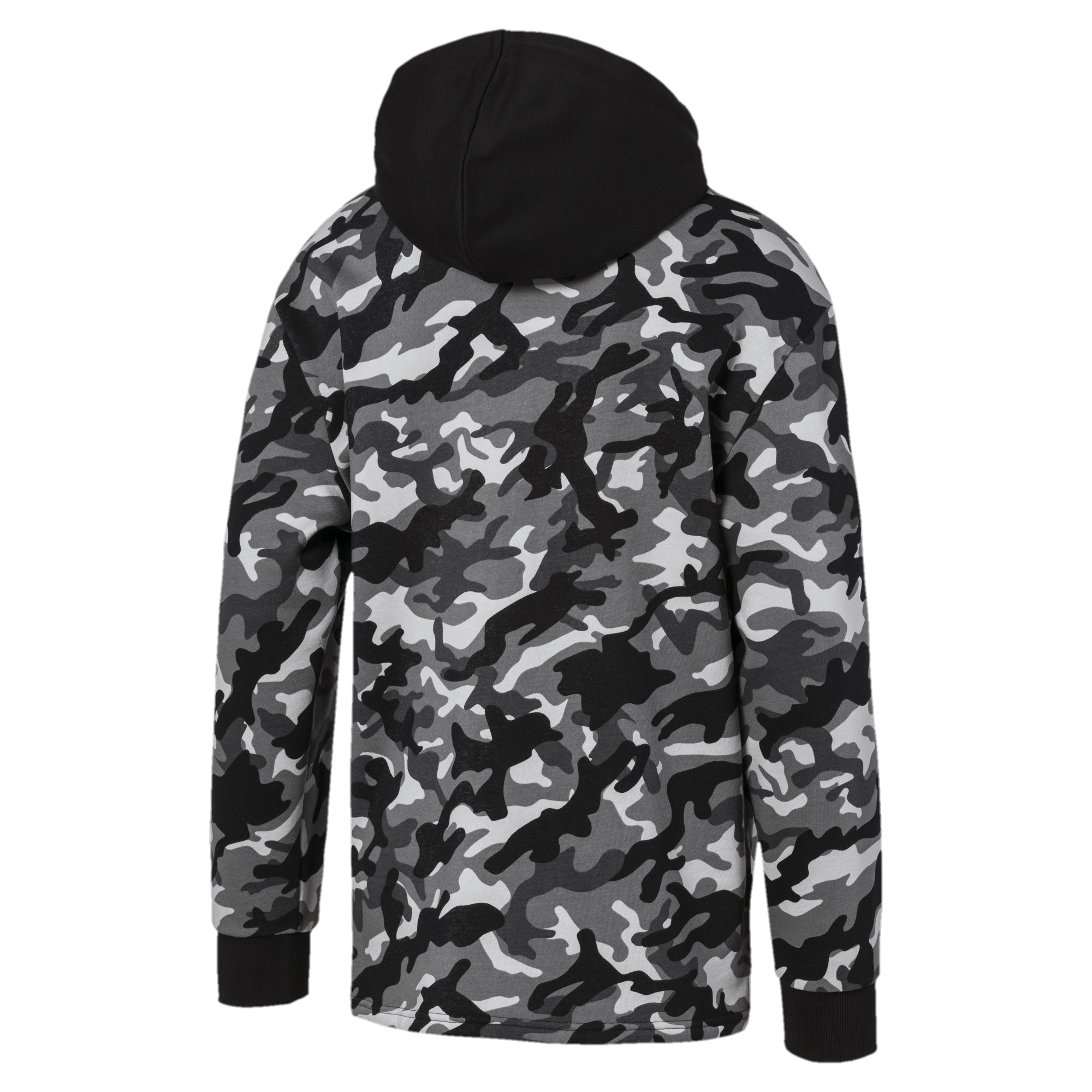 PUMA-Rebel-Camo-Men-039-s-Full-Zip-Fleece-Hoodie-Men-Sweat-Basics thumbnail 3