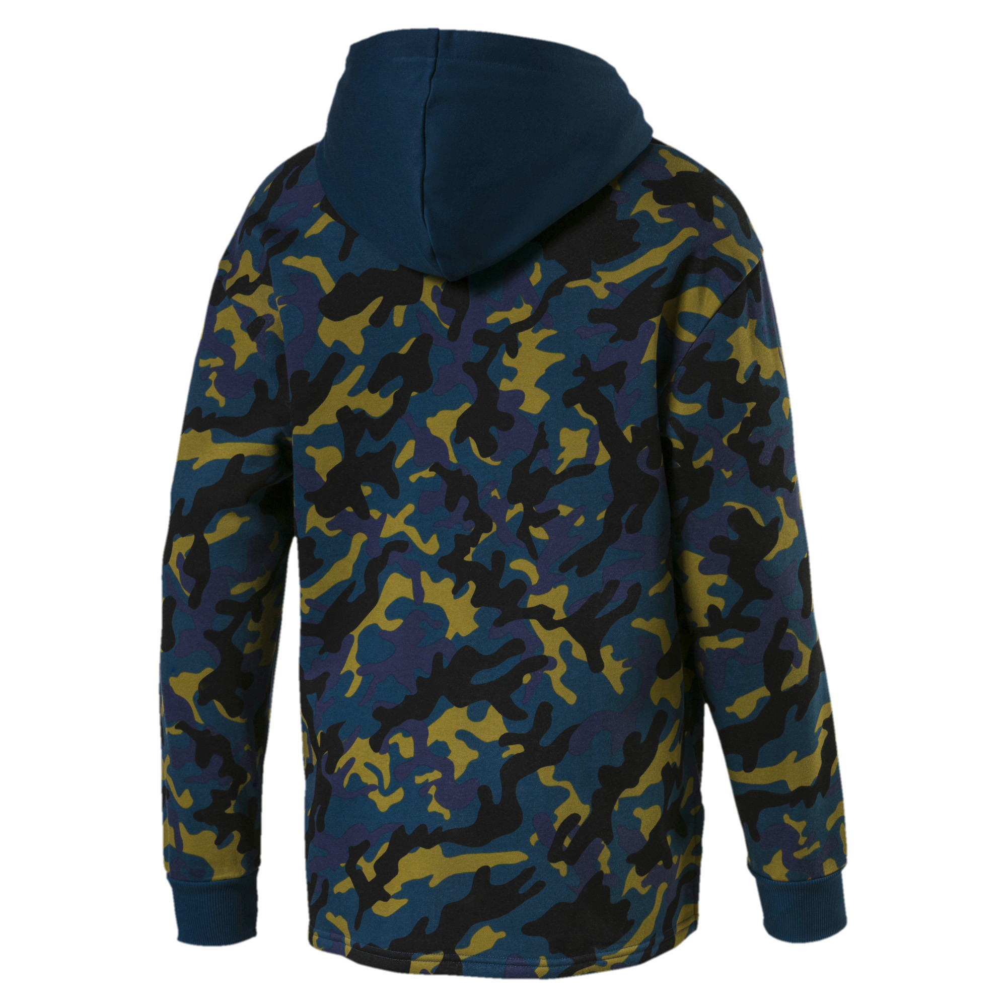 PUMA-Rebel-Camo-Men-039-s-Full-Zip-Fleece-Hoodie-Men-Sweat-Basics thumbnail 8