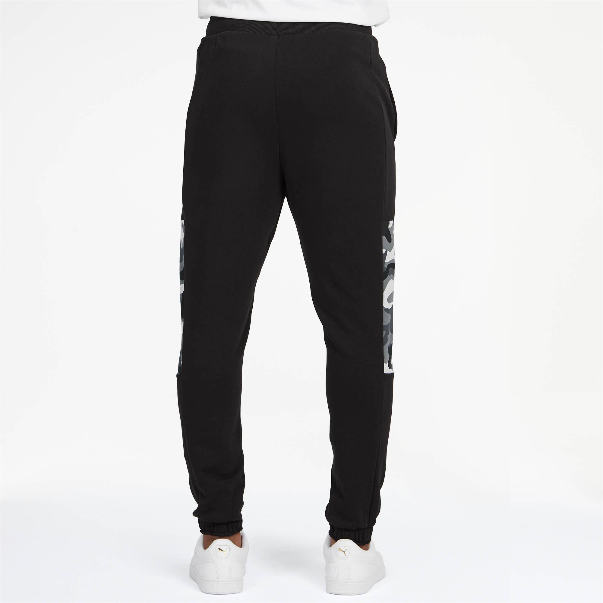 Puma-Pantalones-De-Hombre-Camuflaje-rebelde-hombre-de-punto-pantalones-Basics miniatura 4