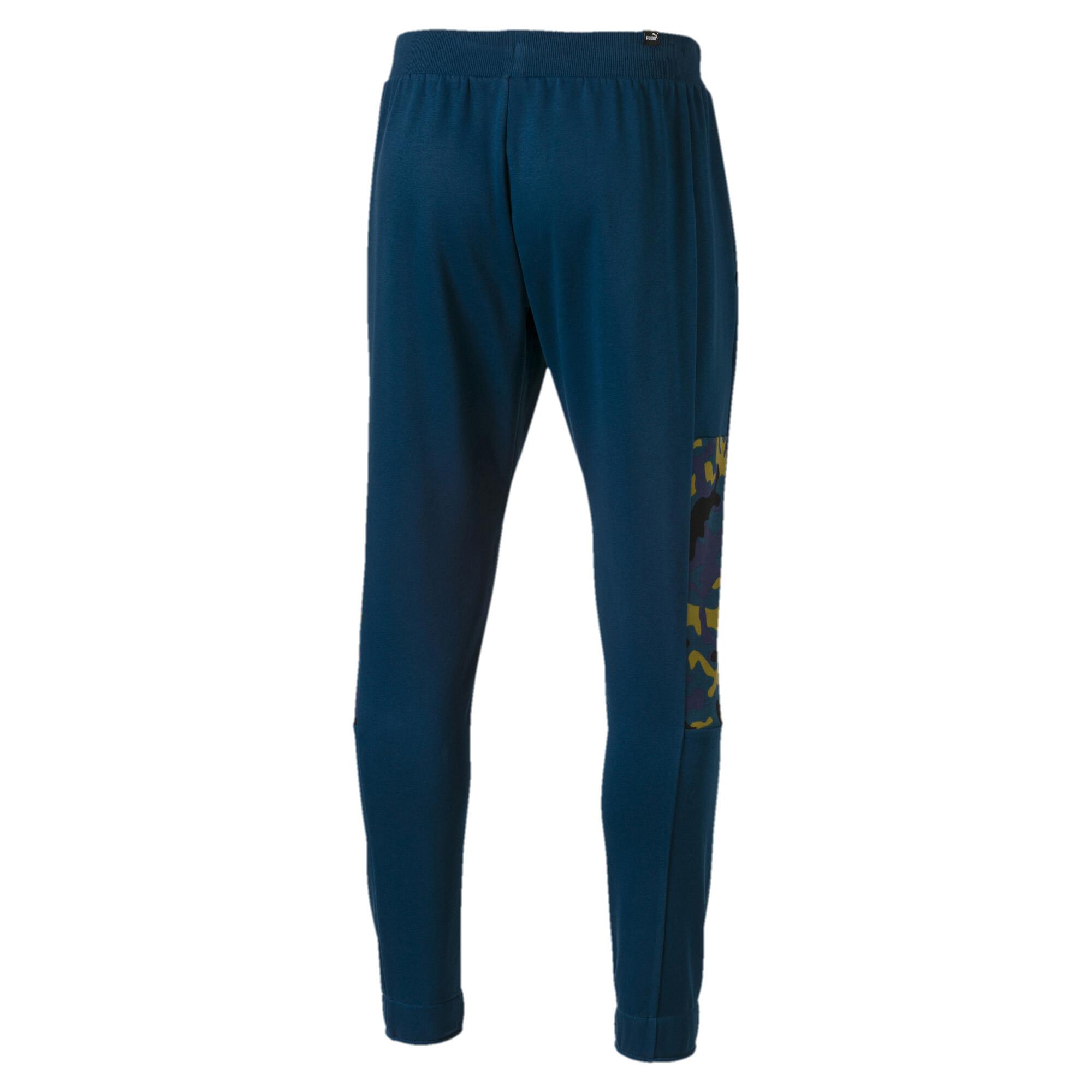 Puma-Pantalones-De-Hombre-Camuflaje-rebelde-hombre-de-punto-pantalones-Basics miniatura 7