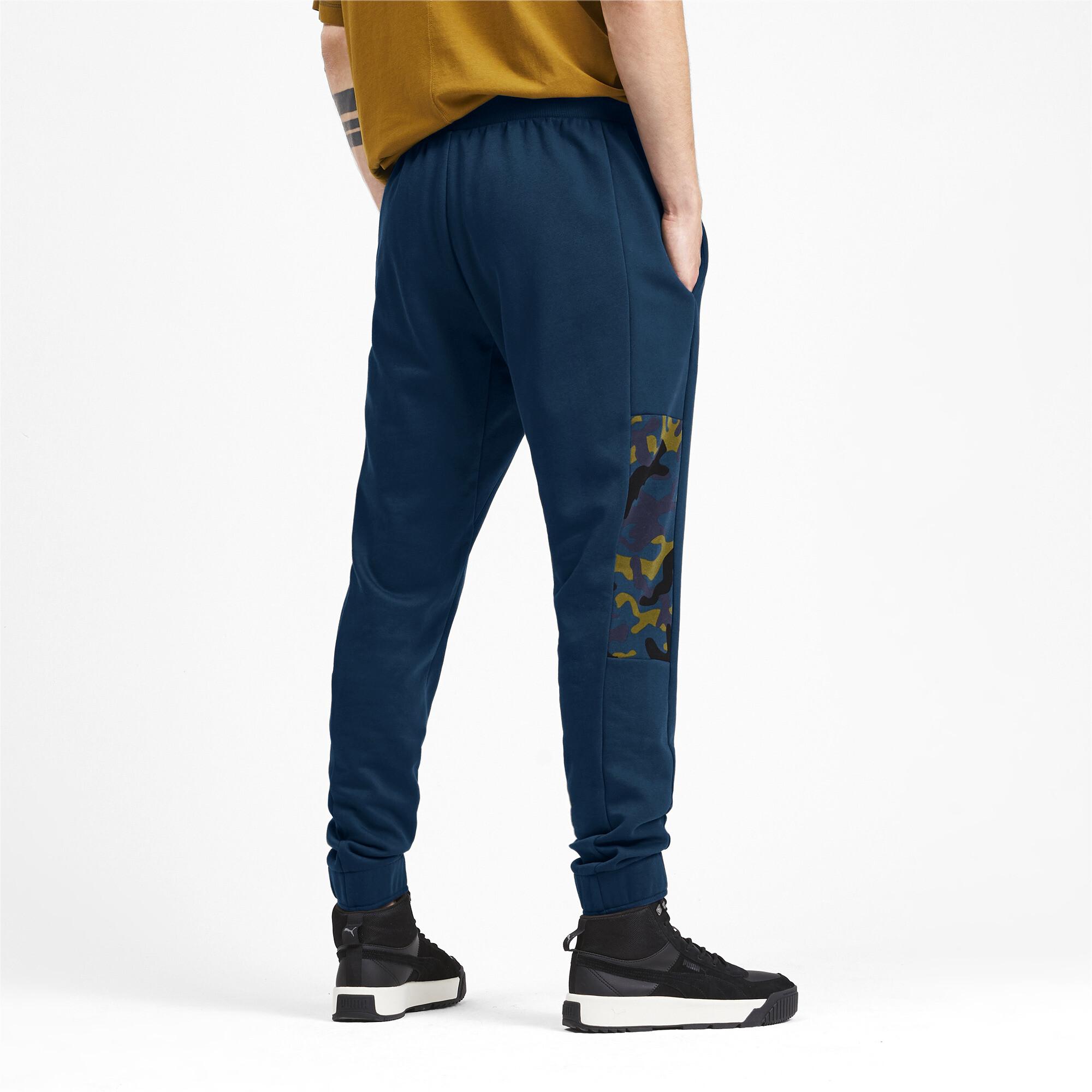 Puma-Pantalones-De-Hombre-Camuflaje-rebelde-hombre-de-punto-pantalones-Basics miniatura 9