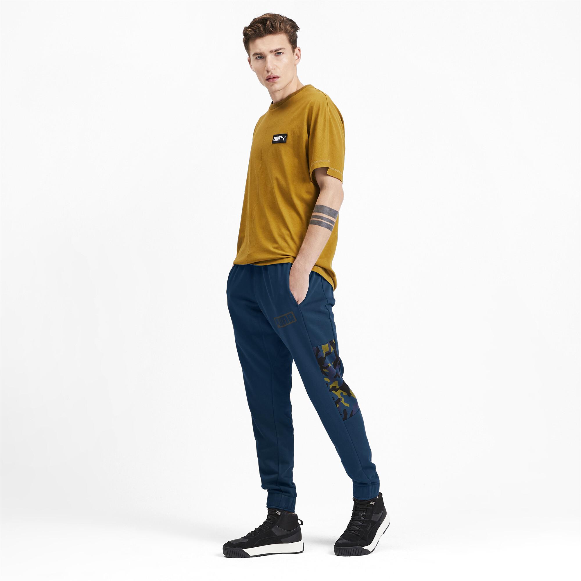 Puma-Pantalones-De-Hombre-Camuflaje-rebelde-hombre-de-punto-pantalones-Basics miniatura 10