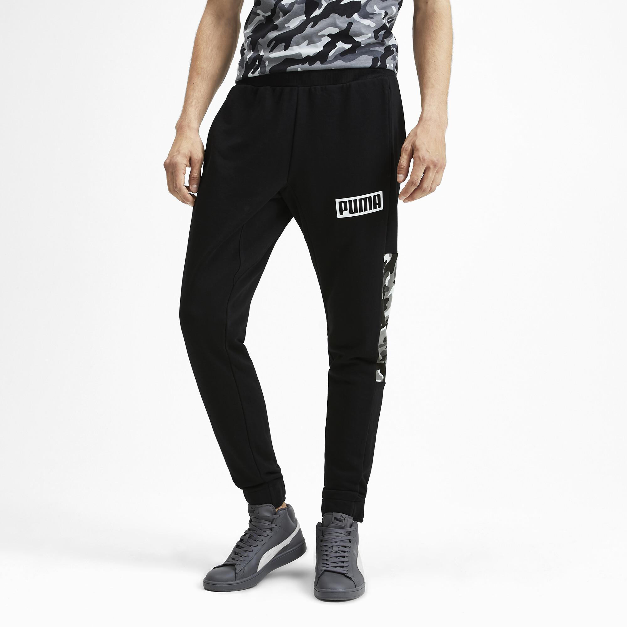 PUMA-Rebel-Camo-Men-039-s-Pants-Men-Knitted-Pants-Basics thumbnail 4
