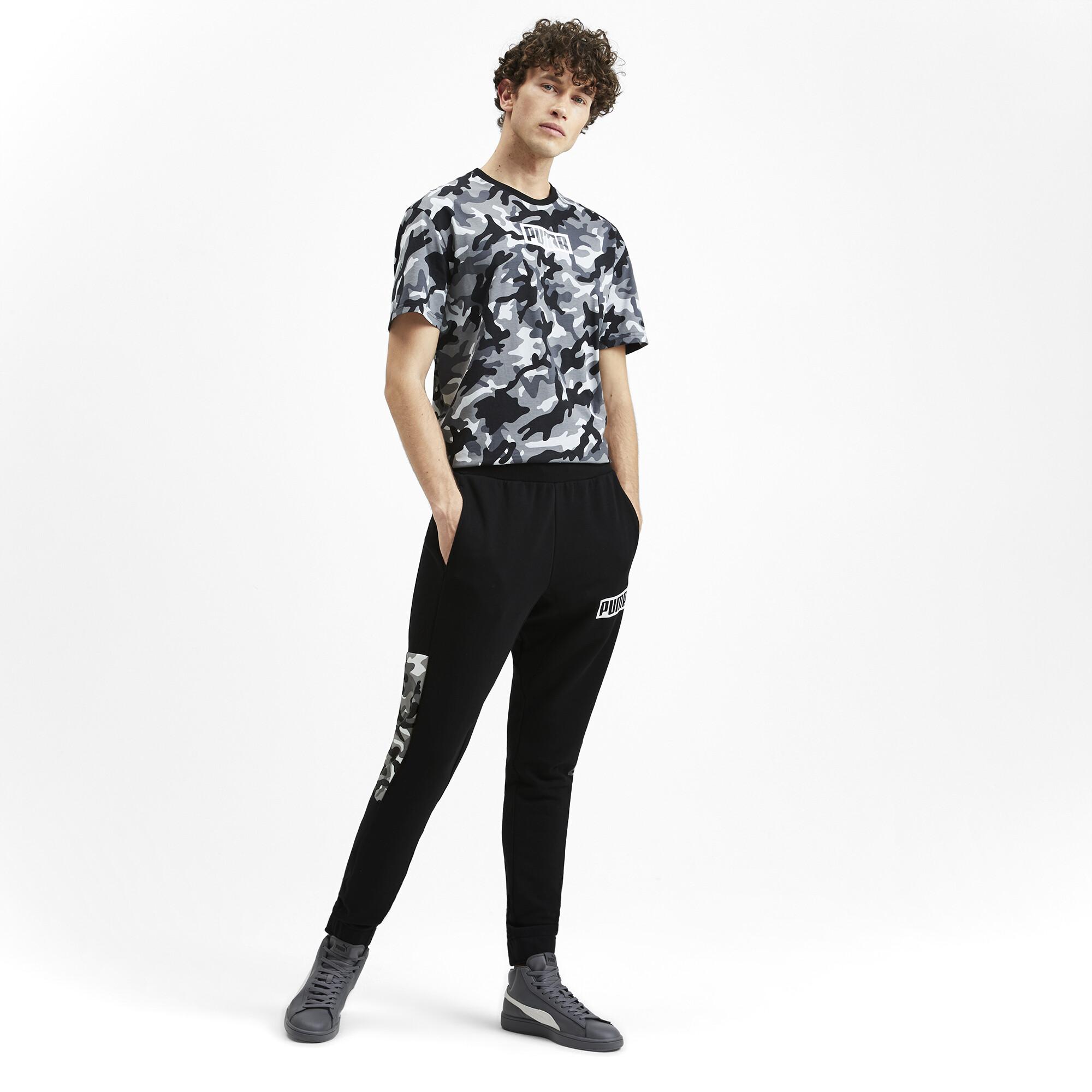 PUMA-Rebel-Camo-Men-039-s-Pants-Men-Knitted-Pants-Basics thumbnail 6