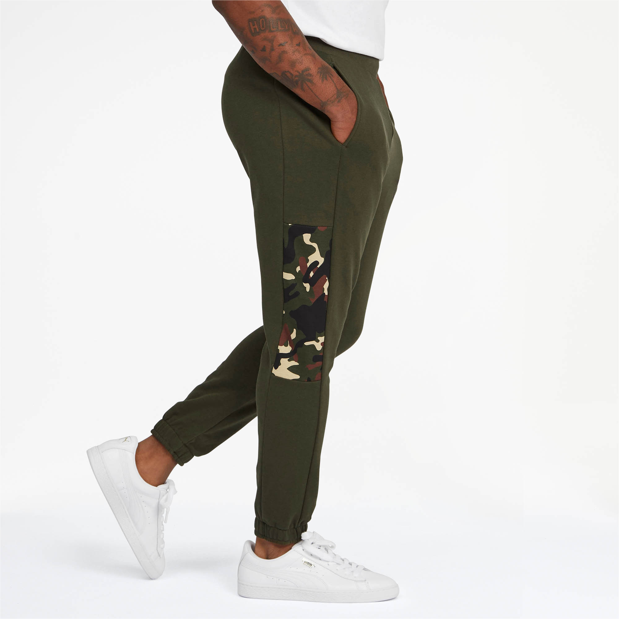 PUMA-Rebel-Camo-Men-039-s-Pants-Men-Knitted-Pants-Basics thumbnail 8