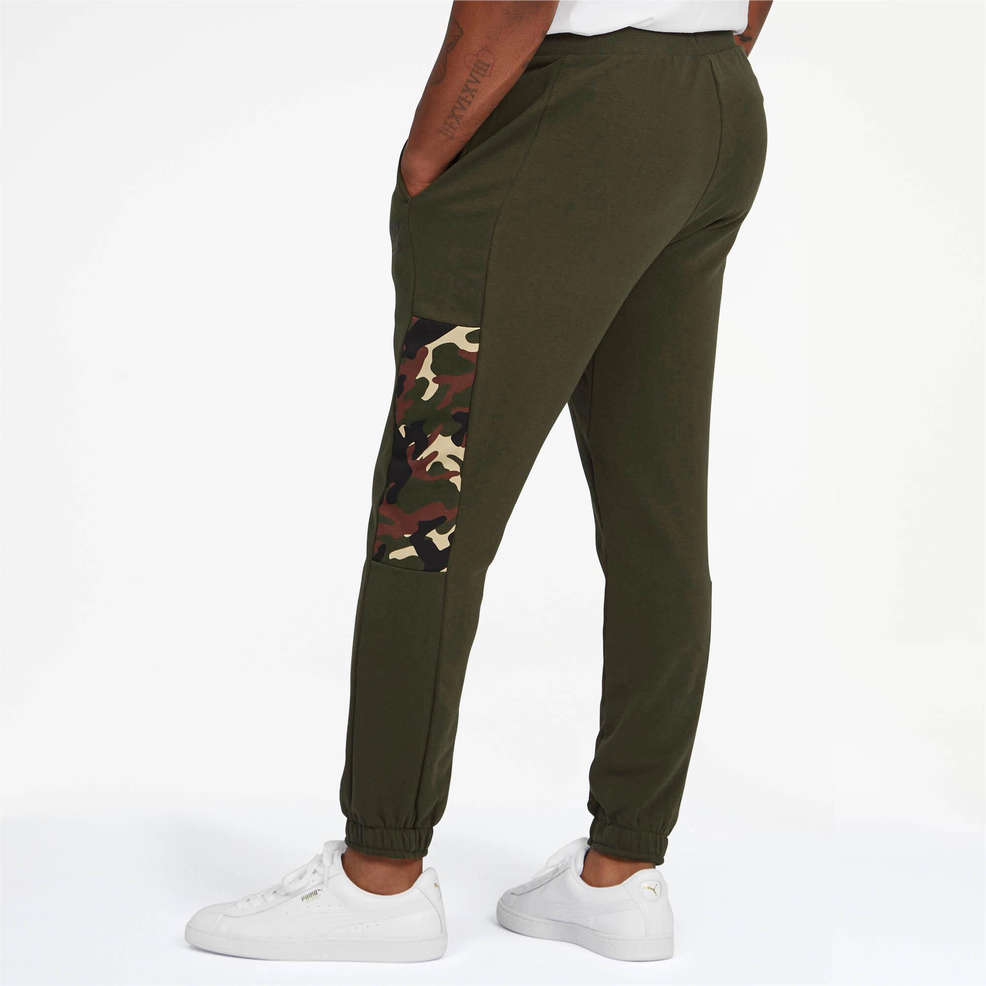 PUMA-Rebel-Camo-Men-039-s-Pants-Men-Knitted-Pants-Basics thumbnail 9