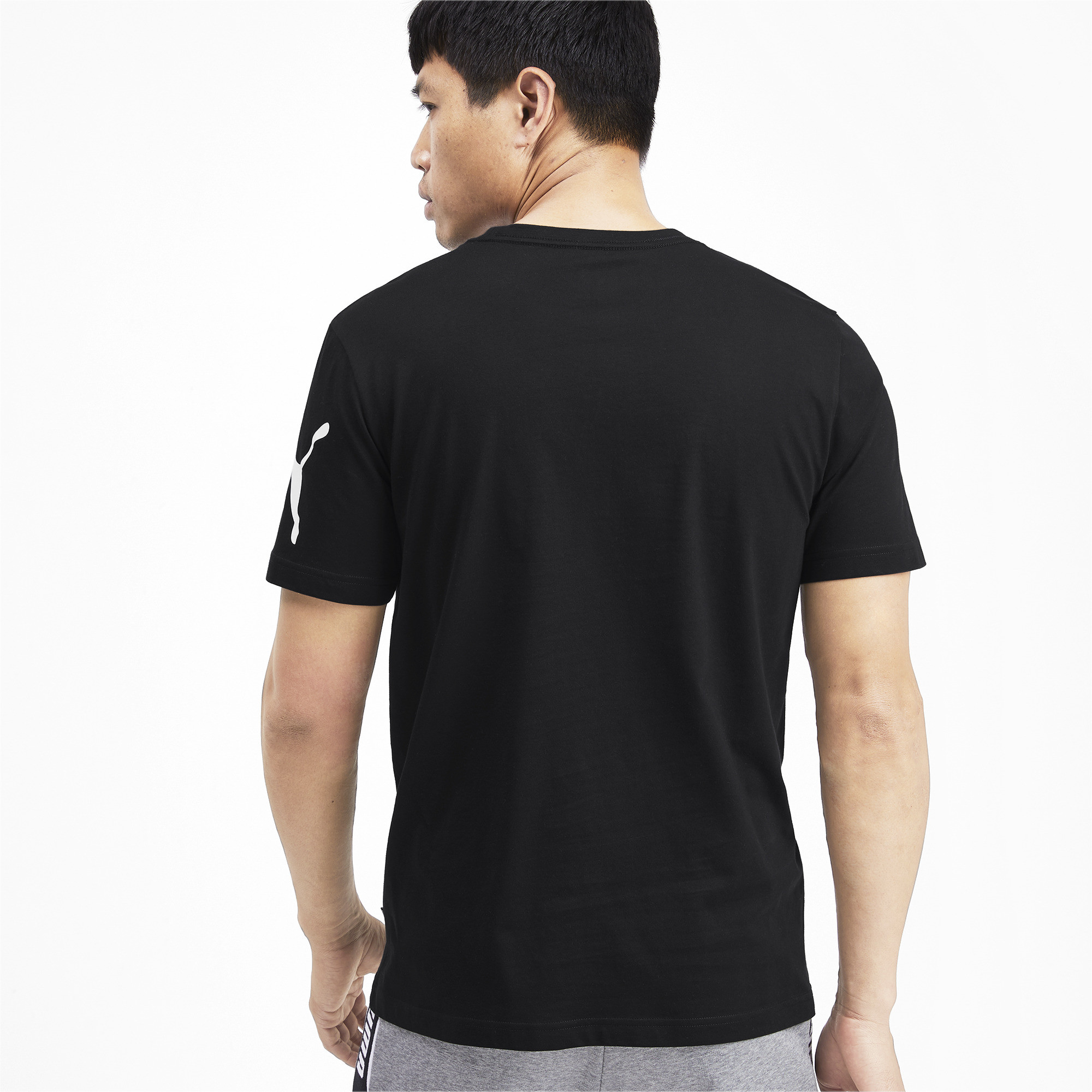 PUMA-Big-Logo-Men-039-s-Tee-Men-Tee-Basics thumbnail 18