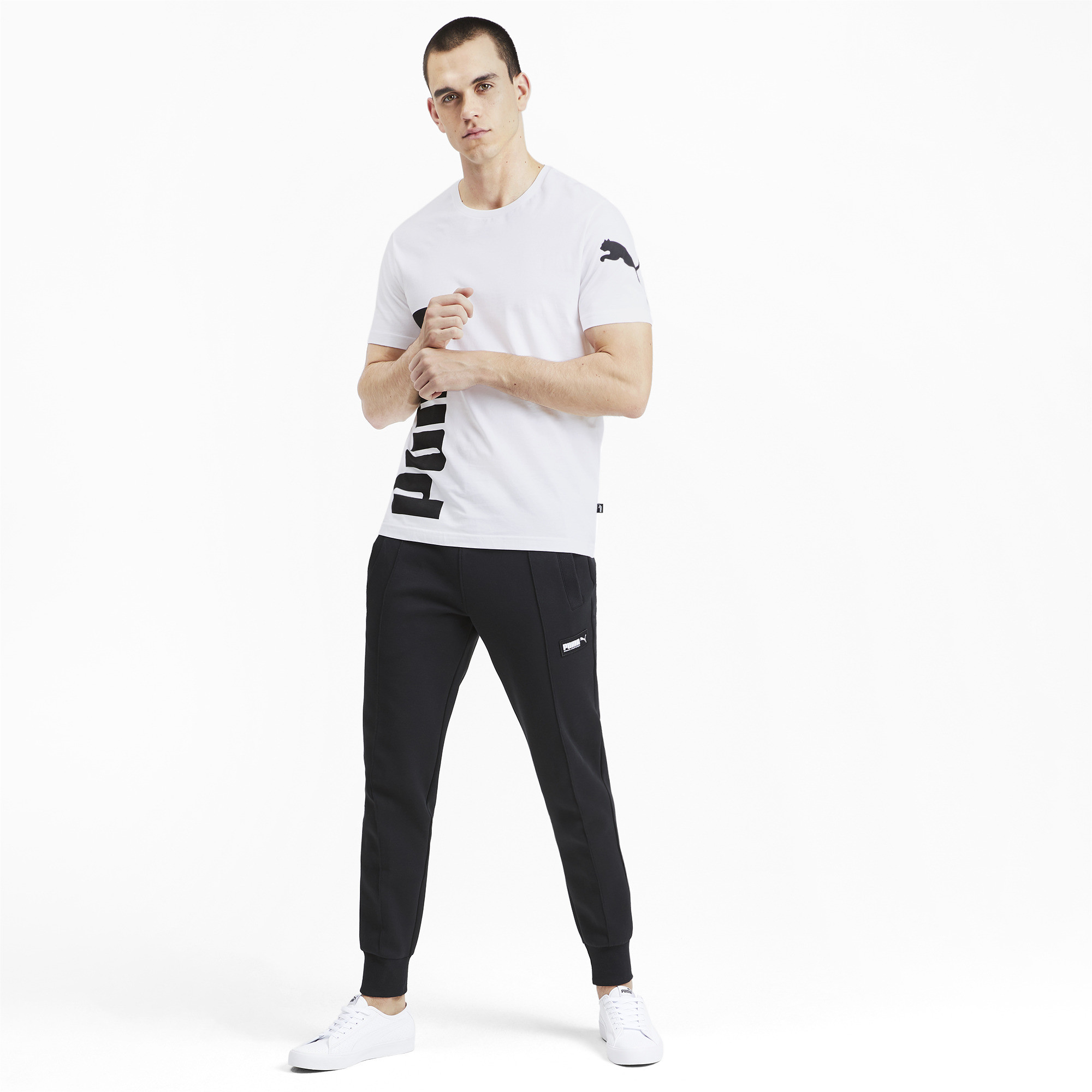 PUMA-Big-Logo-Men-039-s-Tee-Men-Tee-Basics thumbnail 30