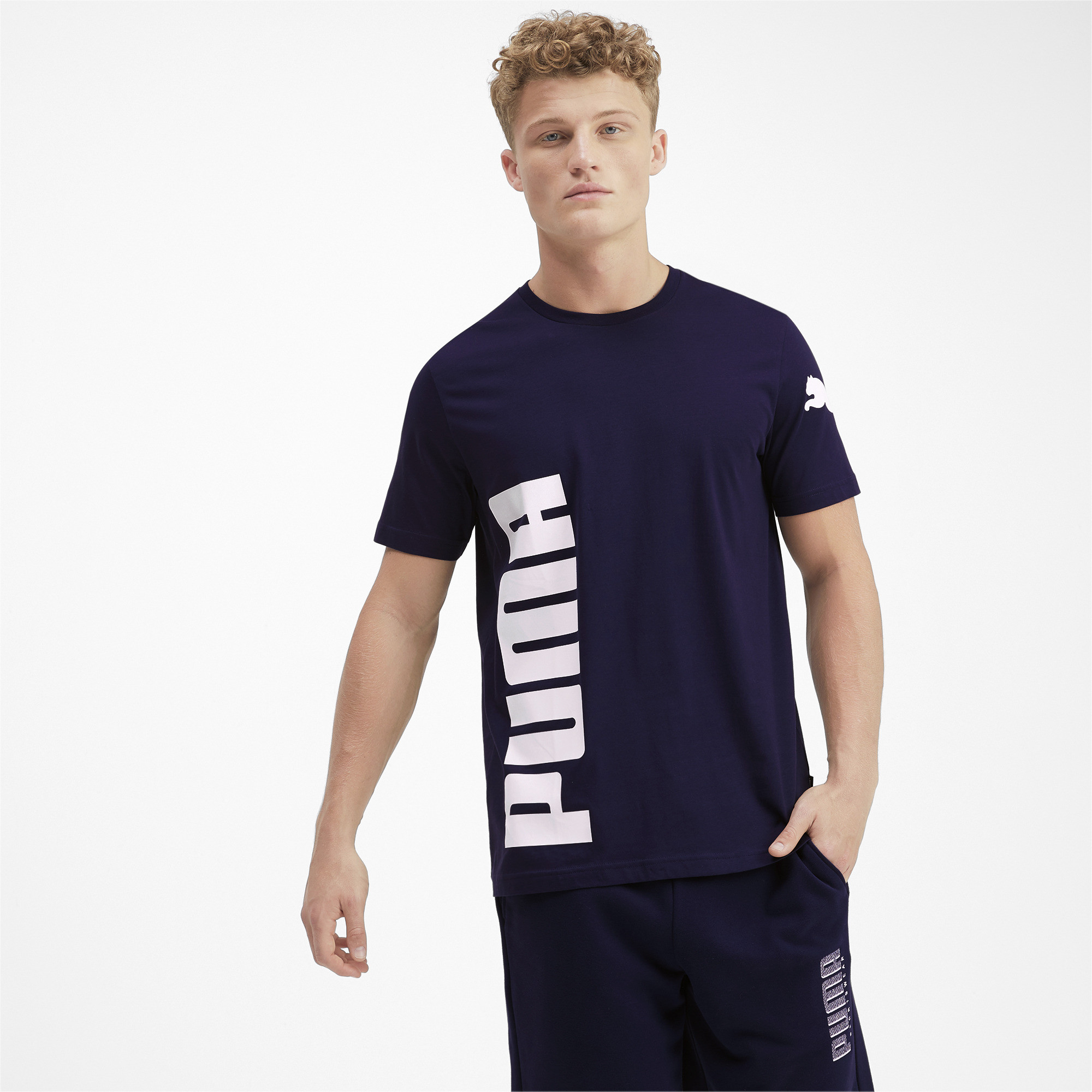 PUMA-Big-Logo-Men-039-s-Tee-Men-Tee-Basics thumbnail 33