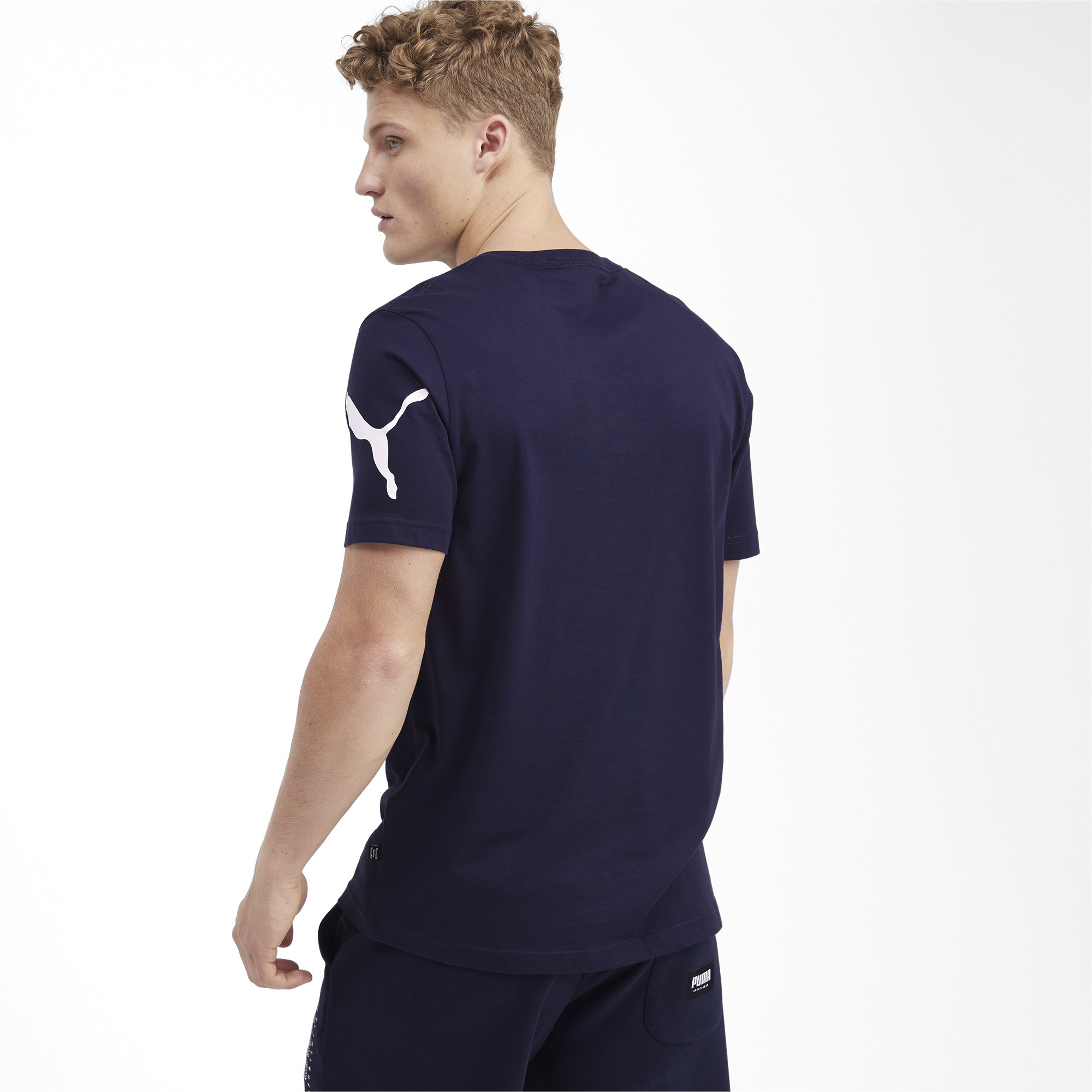 PUMA-Big-Logo-Men-039-s-Tee-Men-Tee-Basics thumbnail 39