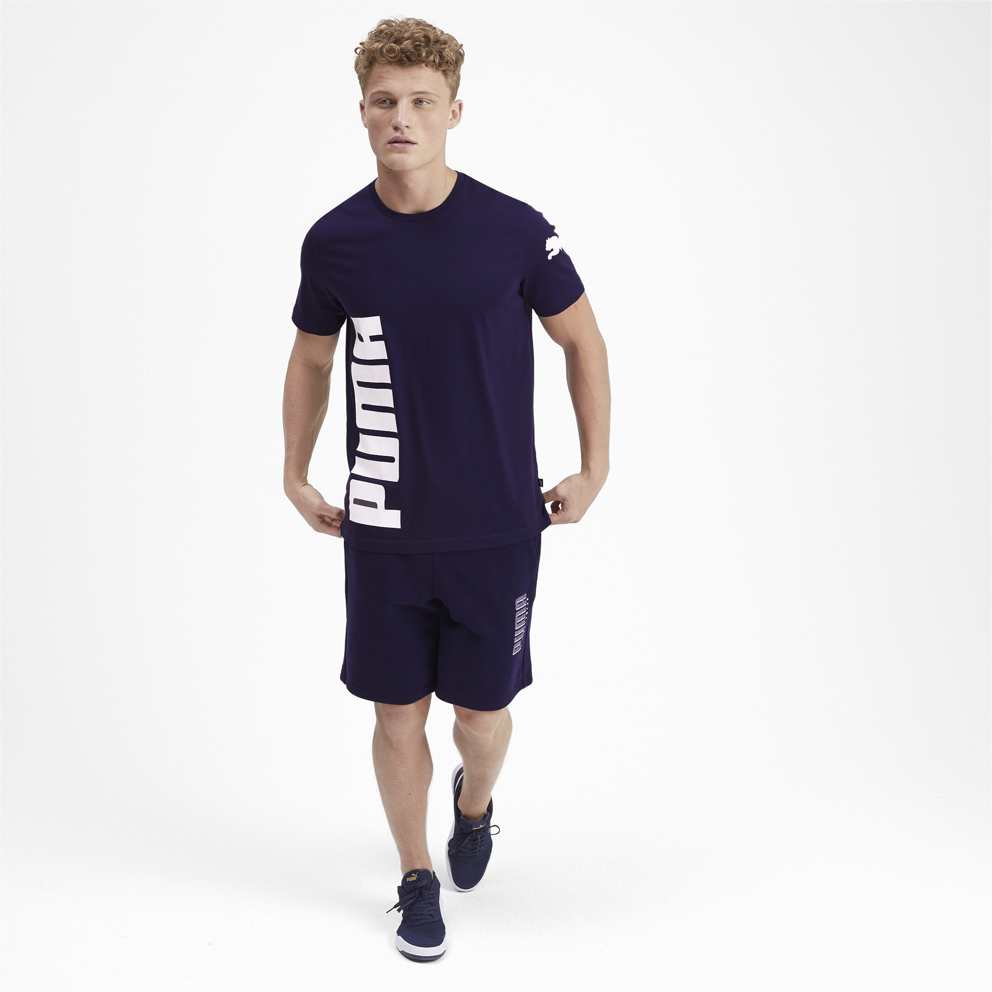 PUMA-Big-Logo-Men-039-s-Tee-Men-Tee-Basics thumbnail 40