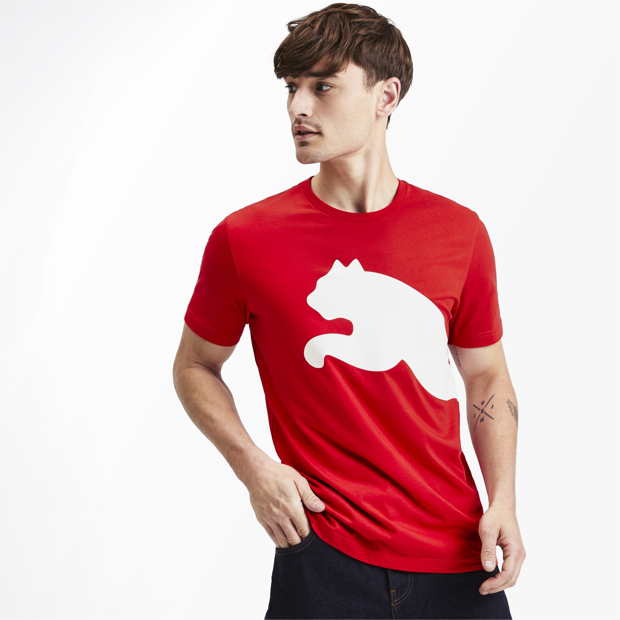 PUMA-Big-Logo-Men-039-s-Tee-Men-Tee-Basics thumbnail 25
