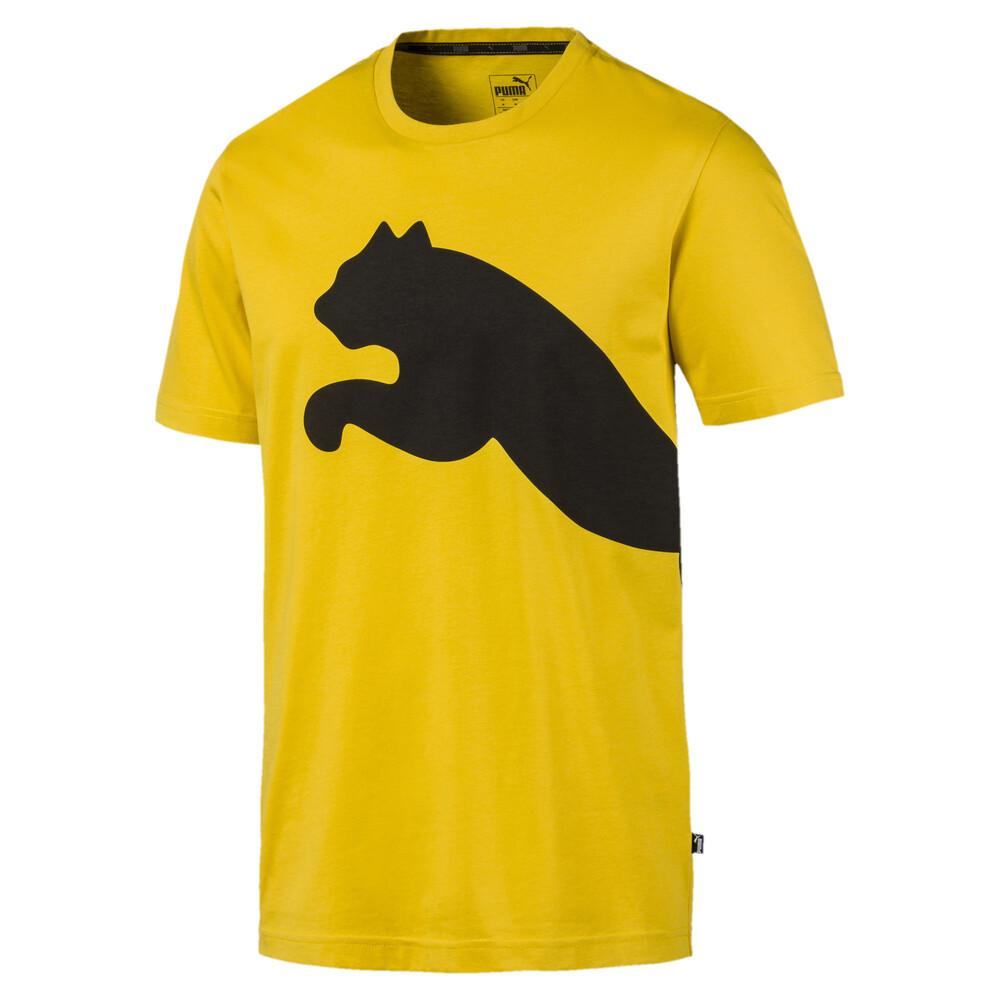 Image Puma Big Logo Graphic Short Sleeve Men's Tee #1