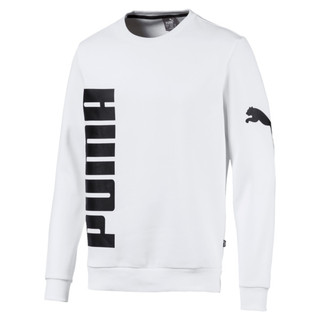 Image Puma Big Logo Fleece Graphic Long Sleeve Crew Men's Sweater