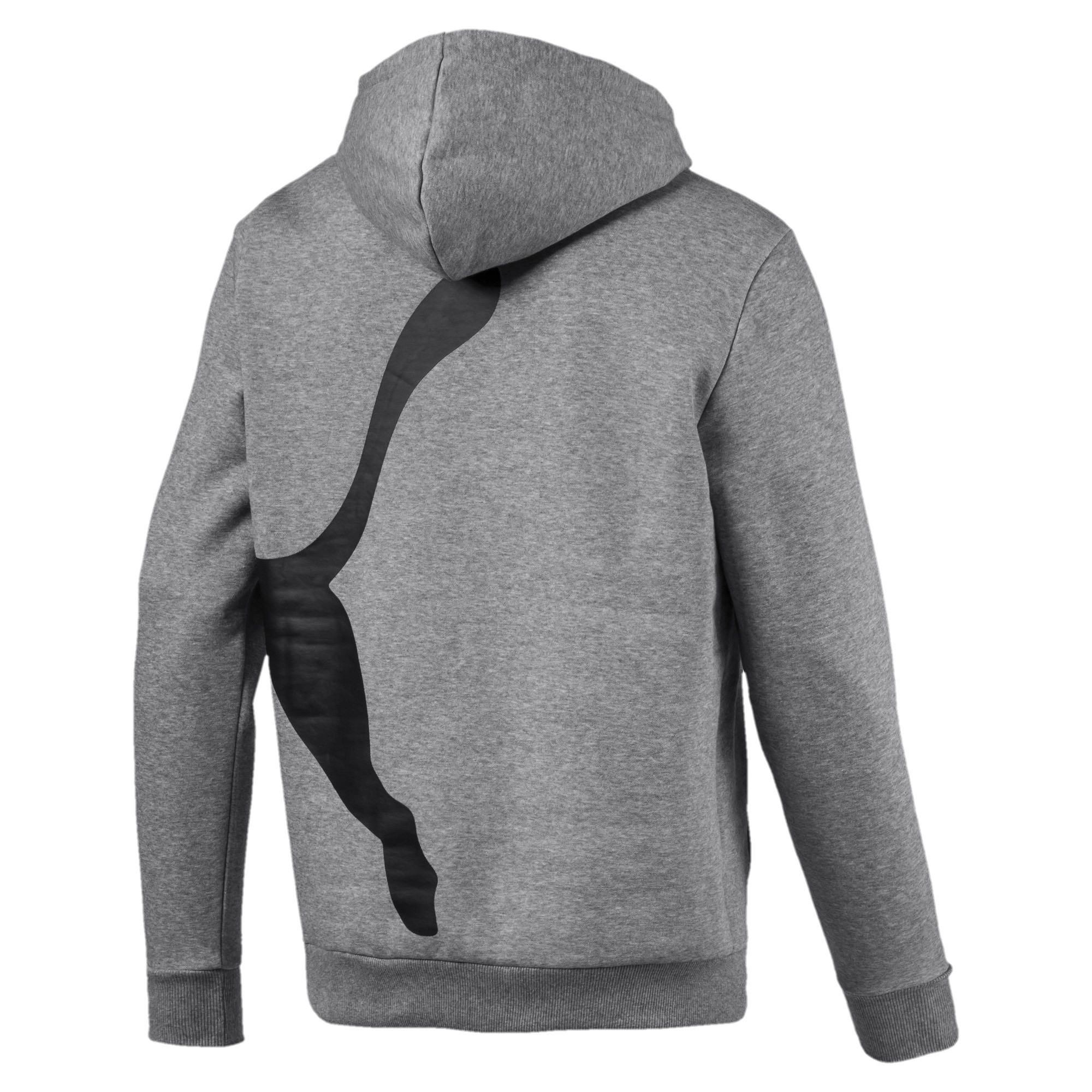 PUMA-Big-Logo-Men-039-s-Fleece-Hoodie-Men-Sweat-Basics thumbnail 3