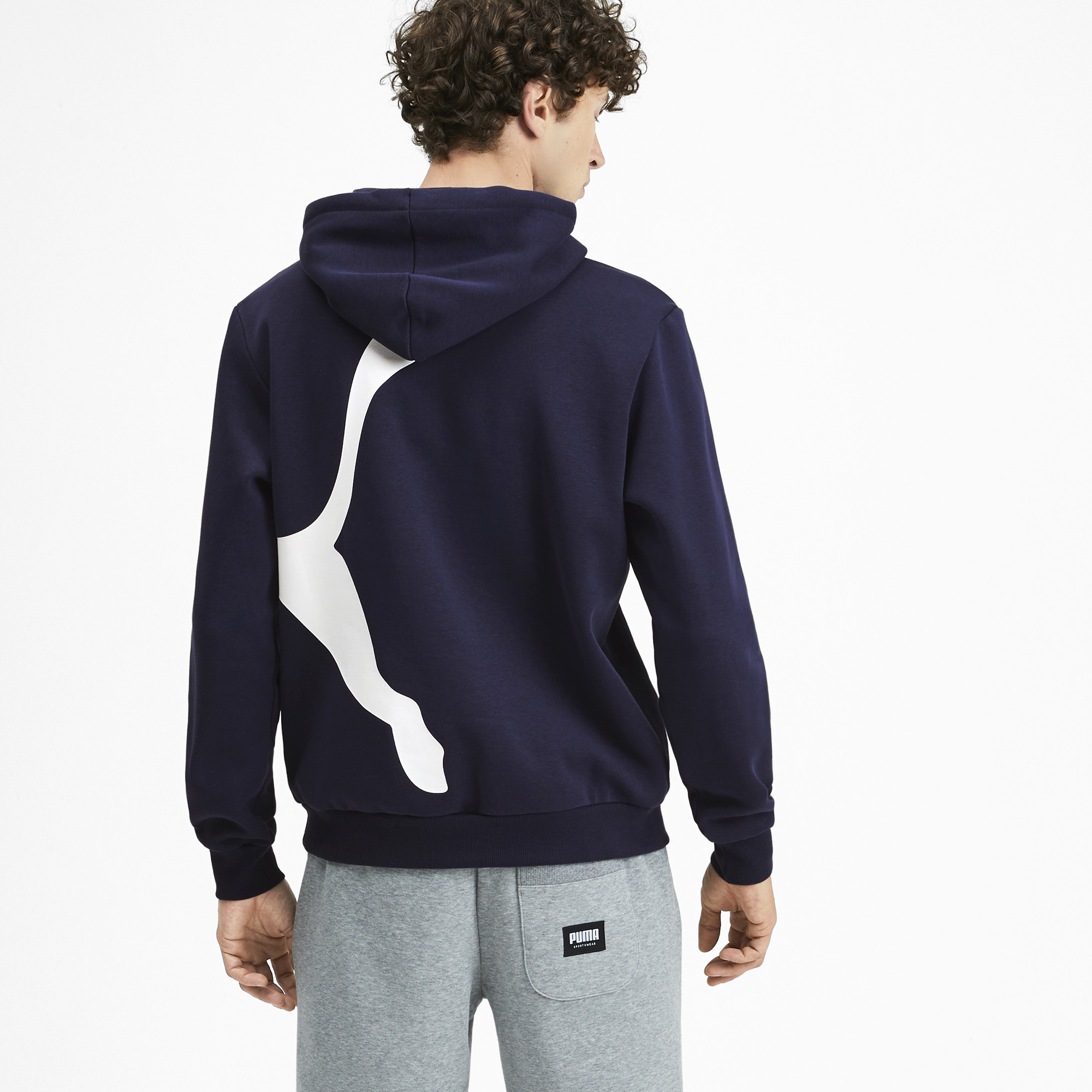 PUMA-Big-Logo-Men-039-s-Fleece-Hoodie-Men-Sweat-Basics thumbnail 20