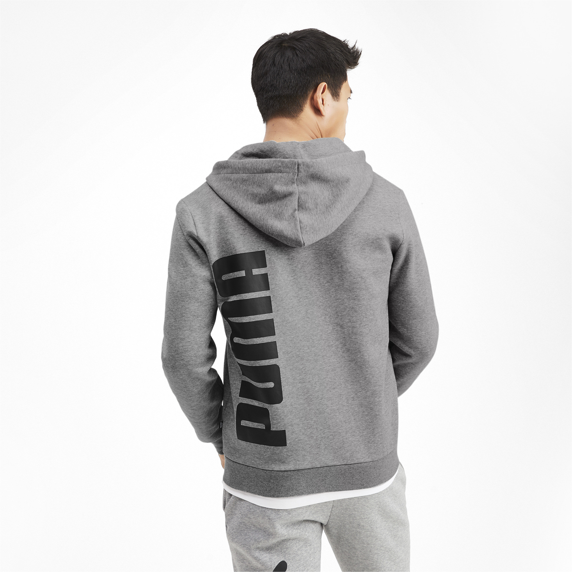 PUMA-Big-Logo-Men-039-s-Full-Zip-Hoodie-Men-Sweat-Basics thumbnail 10
