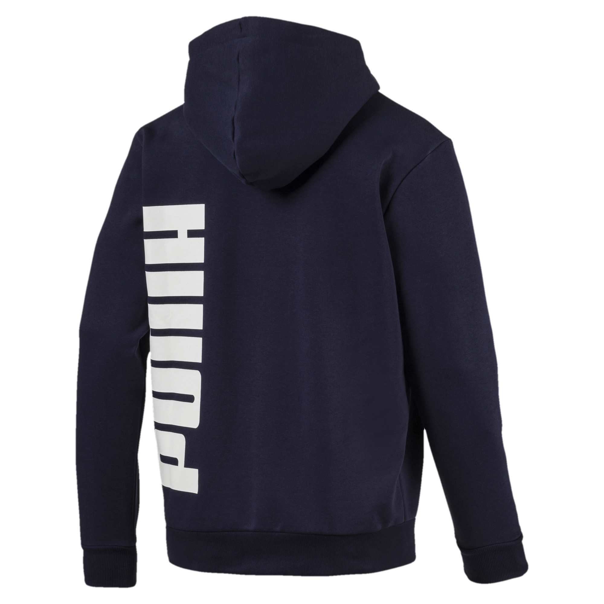 PUMA-Big-Logo-Men-039-s-Full-Zip-Hoodie-Men-Sweat-Basics thumbnail 3