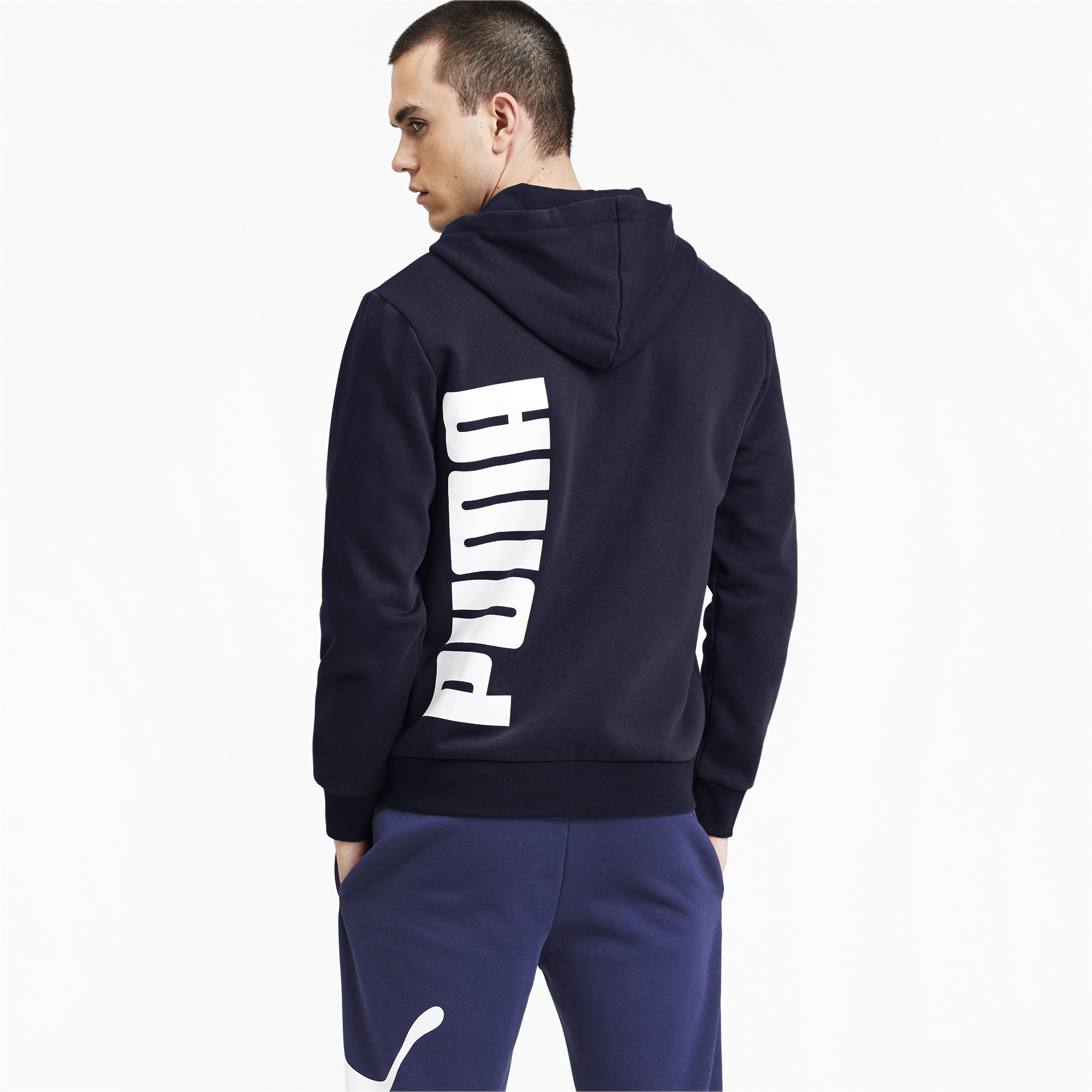 PUMA-Big-Logo-Men-039-s-Full-Zip-Hoodie-Men-Sweat-Basics thumbnail 5