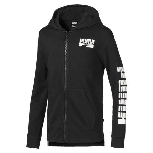 Rebel Boys' Hooded Jacket JR