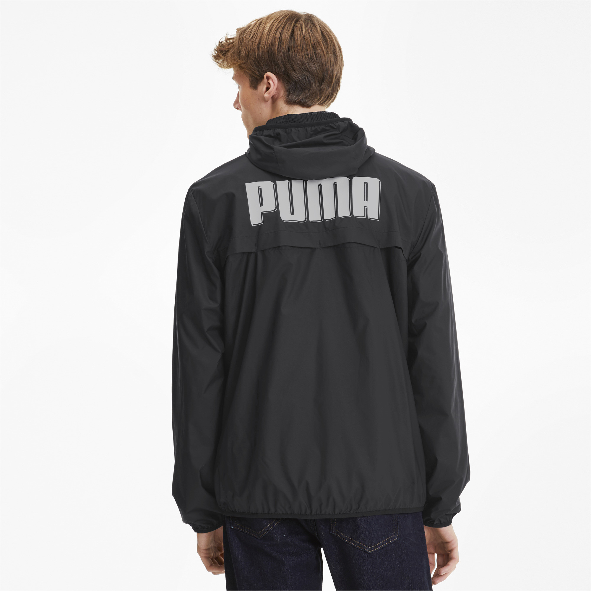 PUMA-Men-039-s-Essentials-Rebel-Windbreaker thumbnail 5