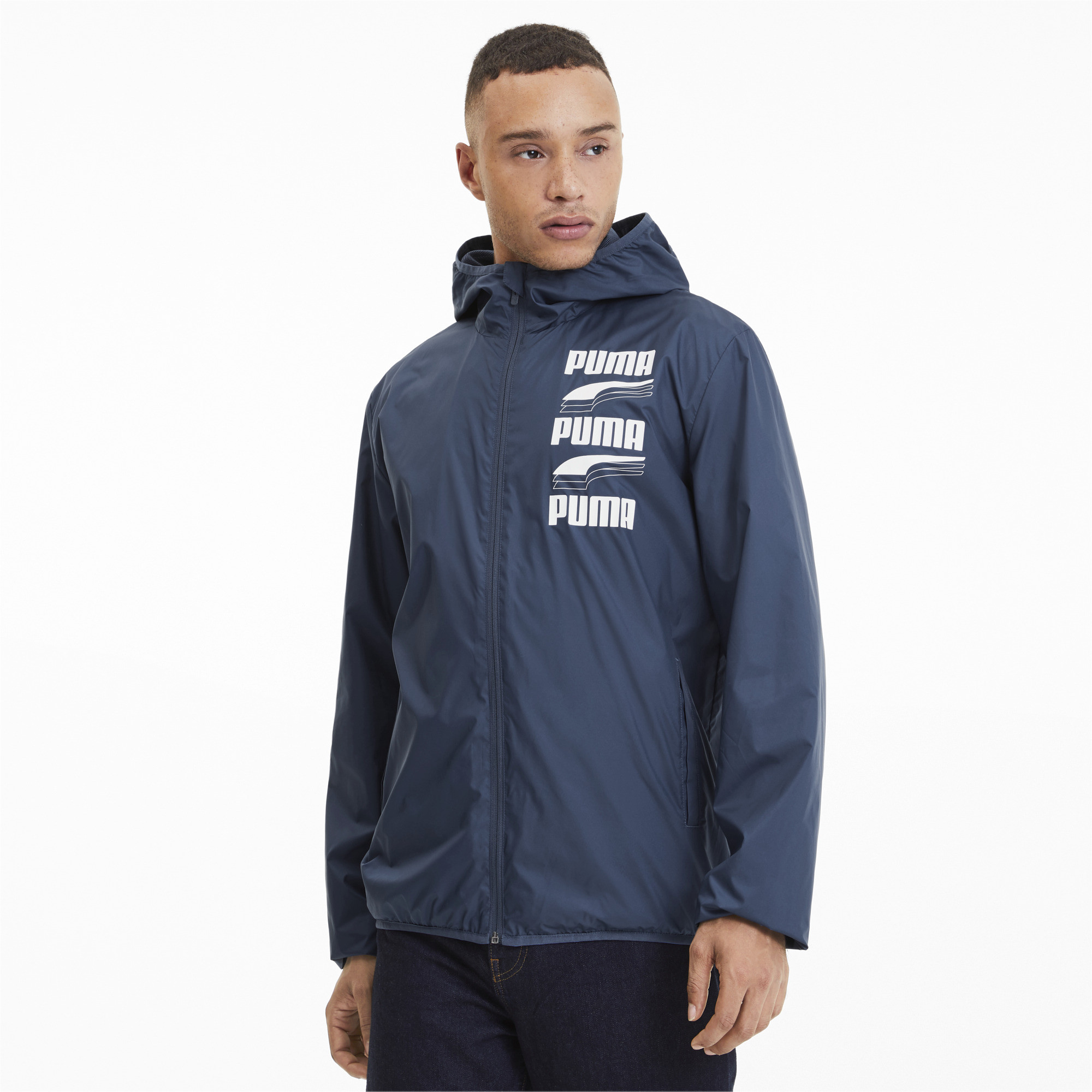 PUMA-Men-039-s-Essentials-Rebel-Windbreaker thumbnail 9