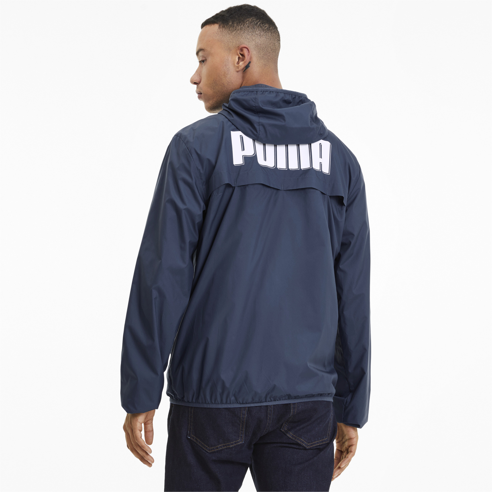 PUMA-Men-039-s-Essentials-Rebel-Windbreaker thumbnail 10