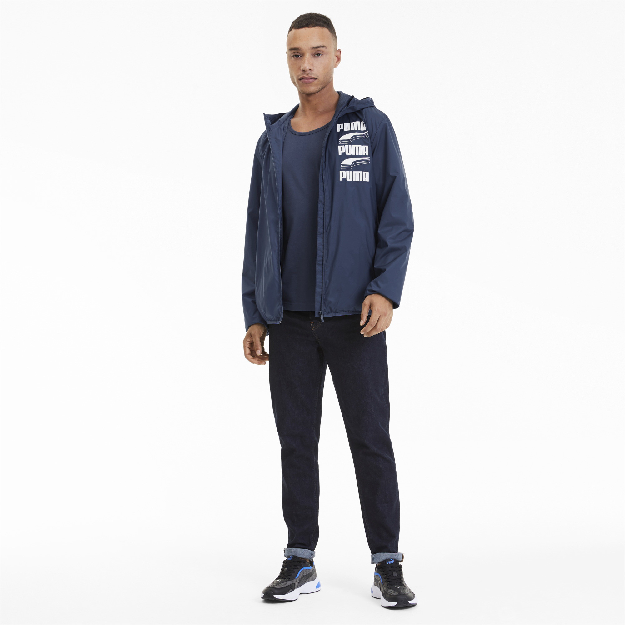 PUMA-Men-039-s-Essentials-Rebel-Windbreaker thumbnail 11