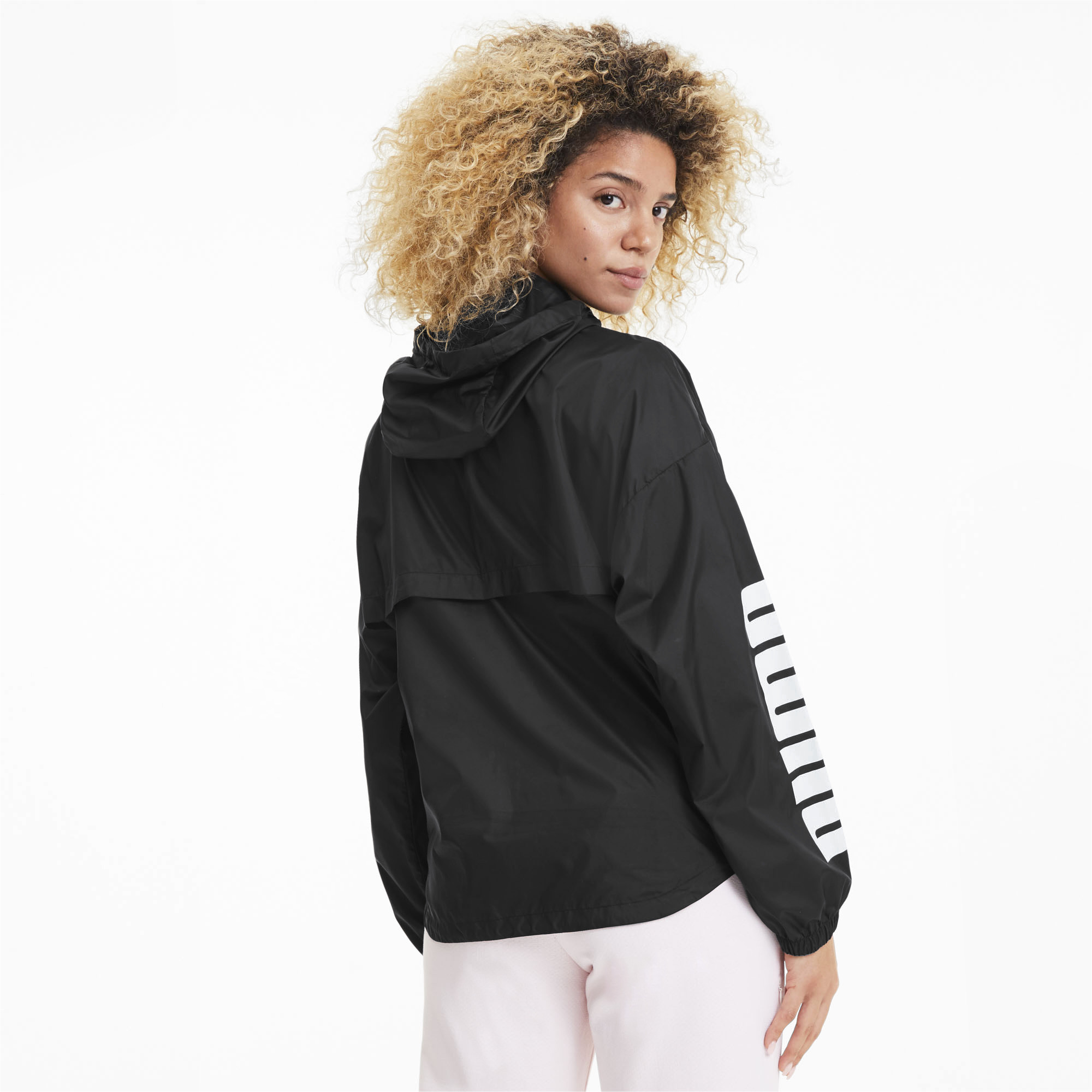 PUMA-Women-039-s-Half-Zip-Windbreaker thumbnail 5