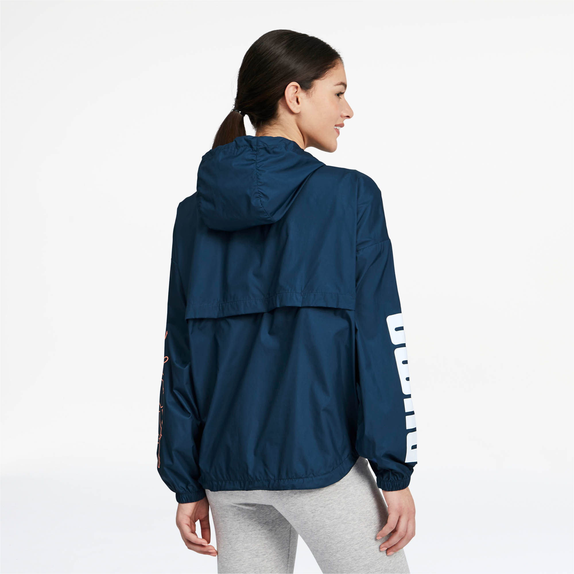 PUMA-Women-039-s-Half-Zip-Windbreaker thumbnail 10