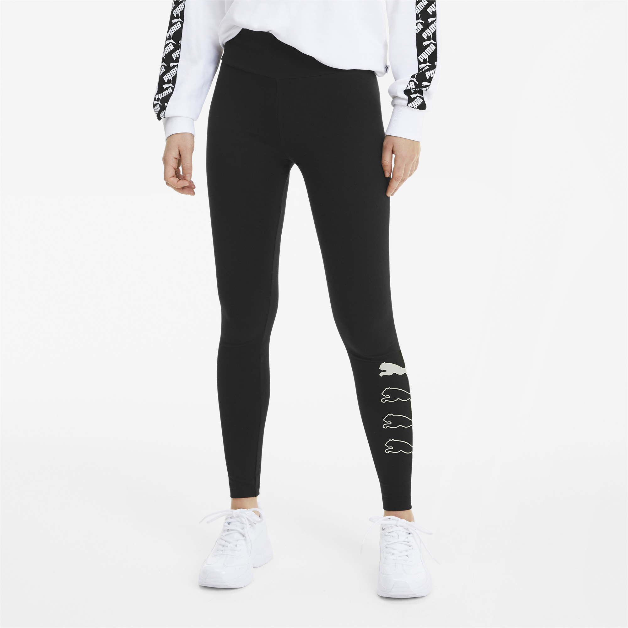 PUMA-Rebel-Women-039-s-Leggings-Women-Basics thumbnail 9