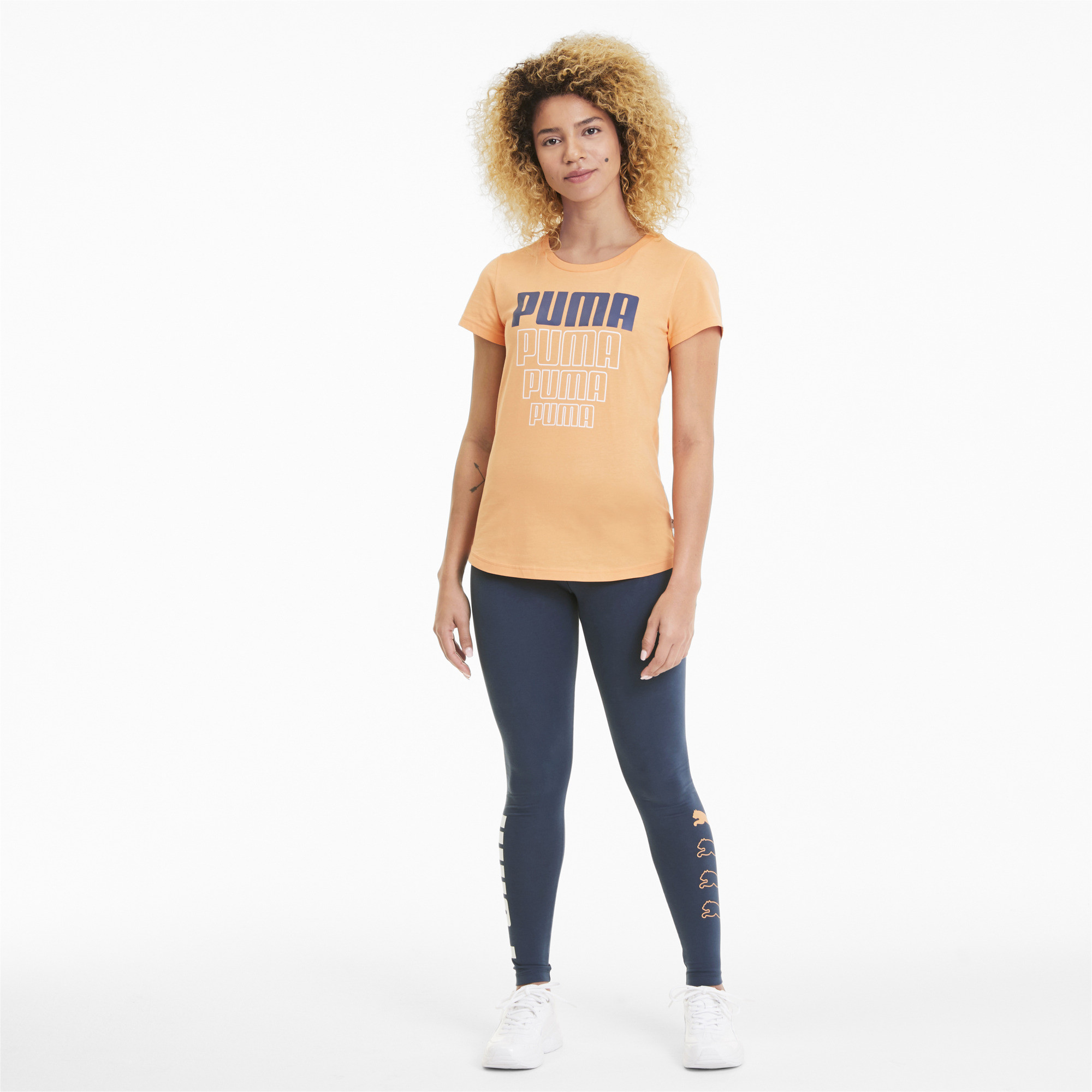 PUMA-Rebel-Women-039-s-Leggings-Women-Basics thumbnail 6