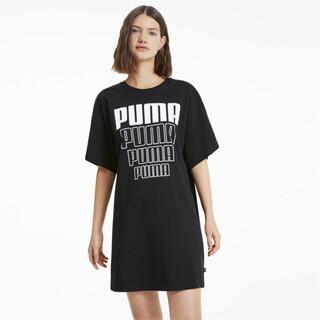 Imagen PUMA Vestido tipo polera Rebel Lightweight para mujer