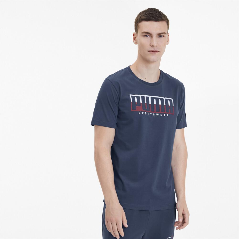Изображение Puma Футболка ATHLETICS Tee Big Logo #1