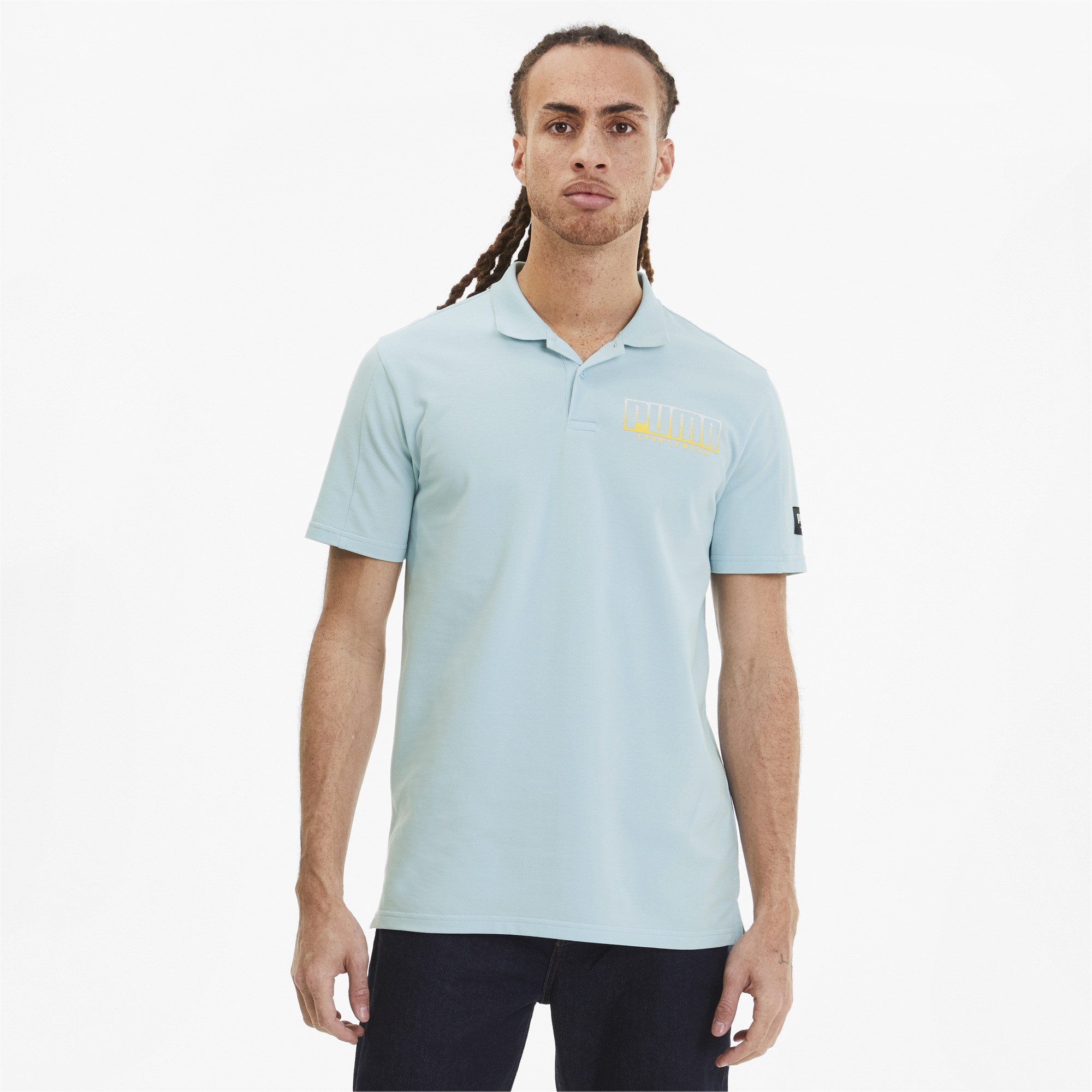 PUMA-Men-039-s-Athletics-Polo miniature 4