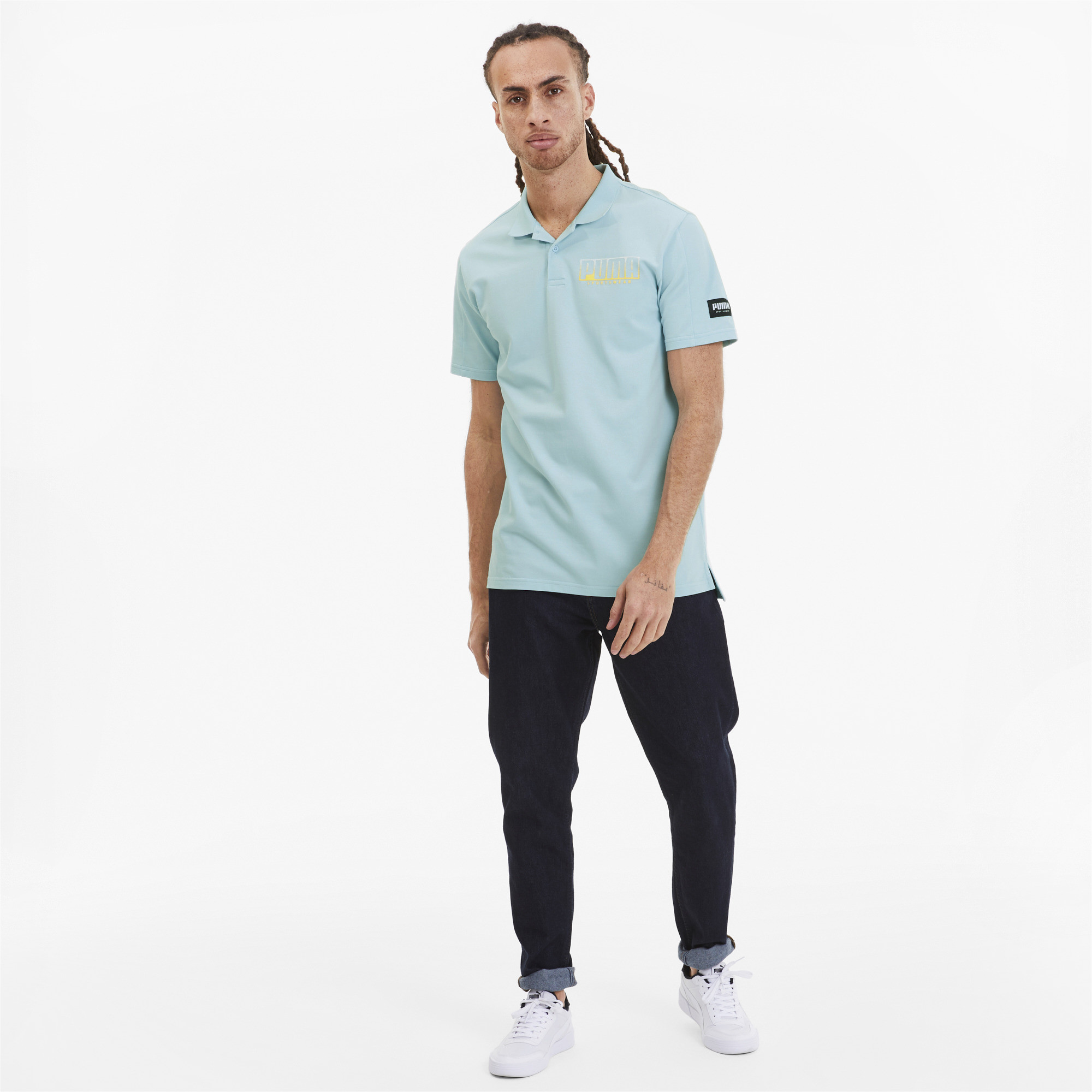 PUMA-Men-039-s-Athletics-Polo miniature 6