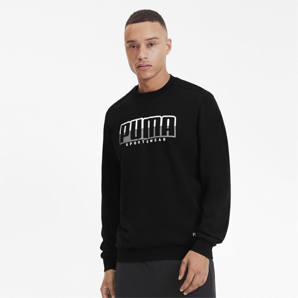 Image PUMA ATHLETICS Crew Neck Men's Sweater #1