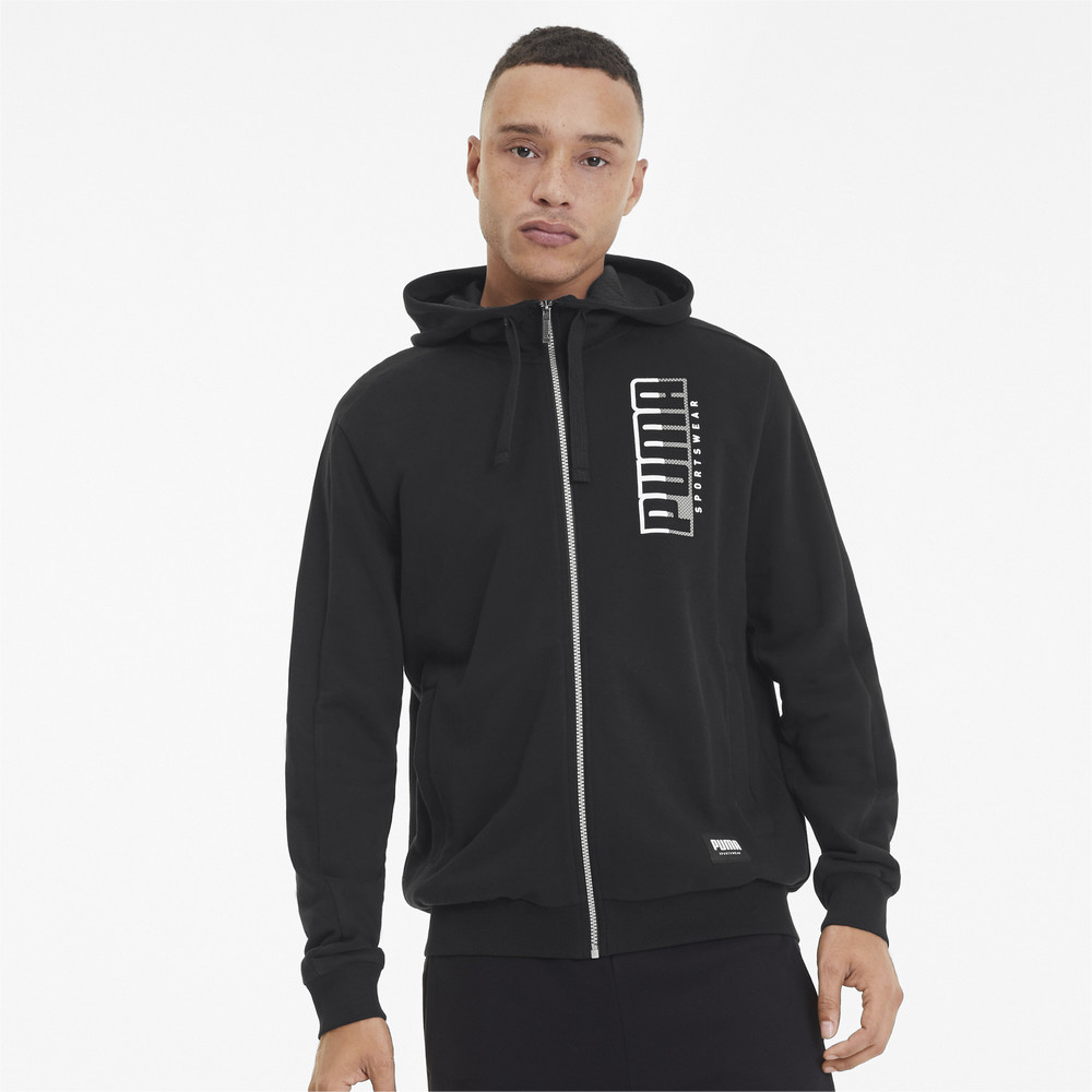 Зображення Puma Толстовка ATHLETICS Hooded Jacket TR #1