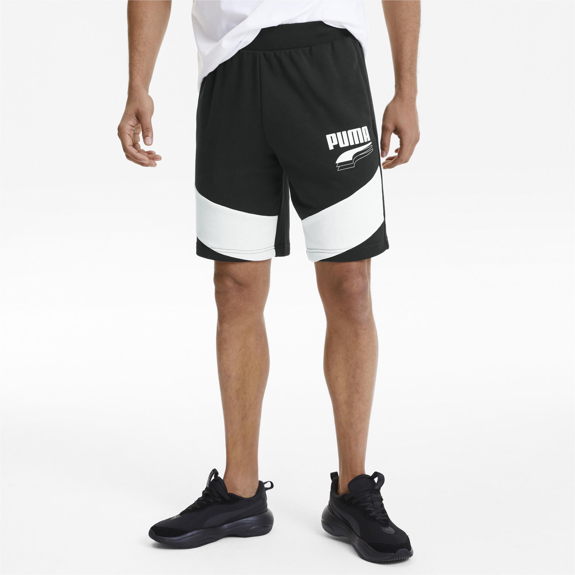 PUMA-Rebel-Block-Men-039-s-Shorts-Men-Knitted-Shorts-Basics thumbnail 4