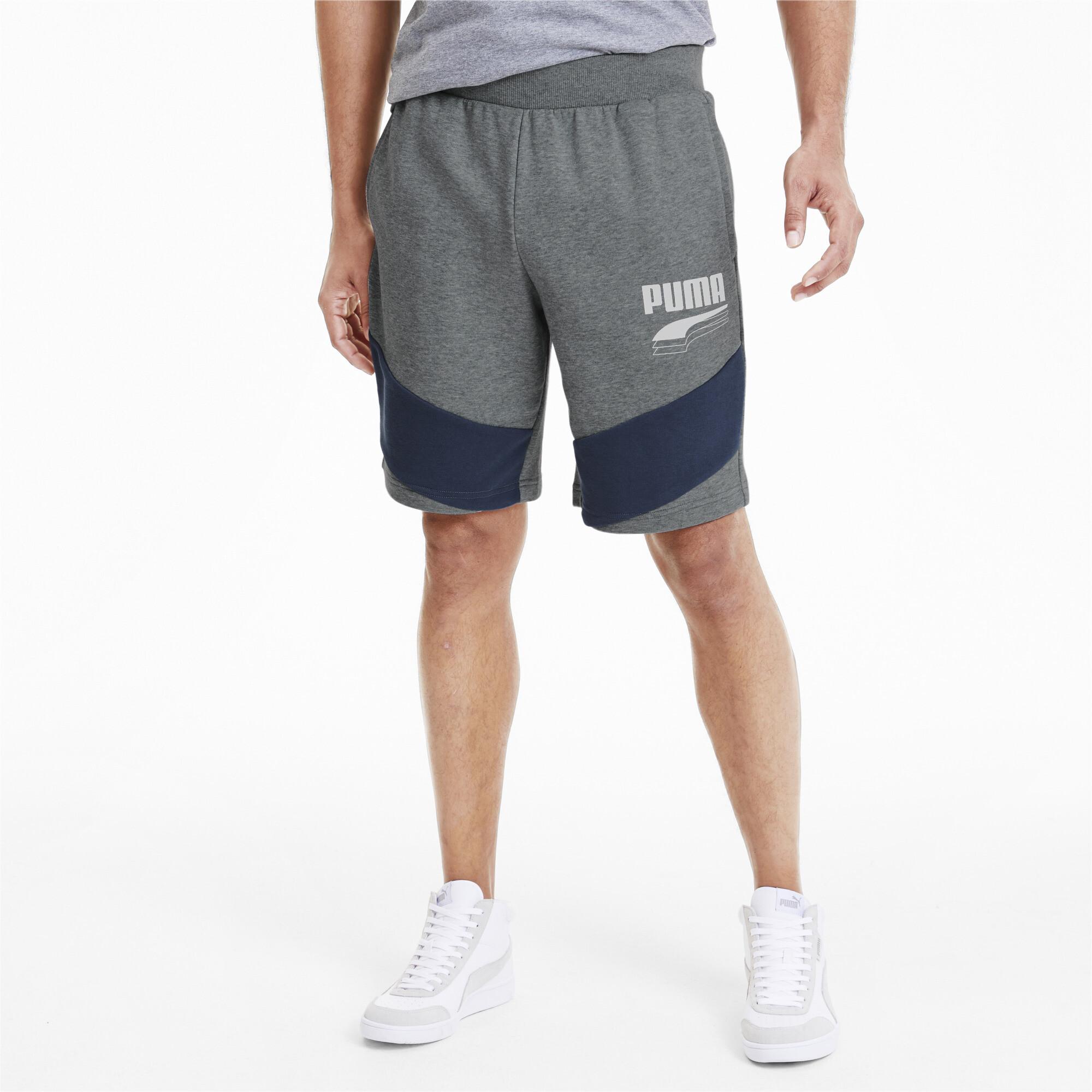 PUMA-Rebel-Block-Men-039-s-Shorts-Men-Knitted-Shorts-Basics thumbnail 9