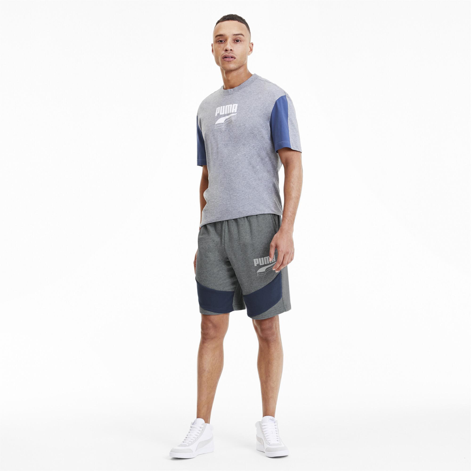 PUMA-Rebel-Block-Men-039-s-Shorts-Men-Knitted-Shorts-Basics thumbnail 11