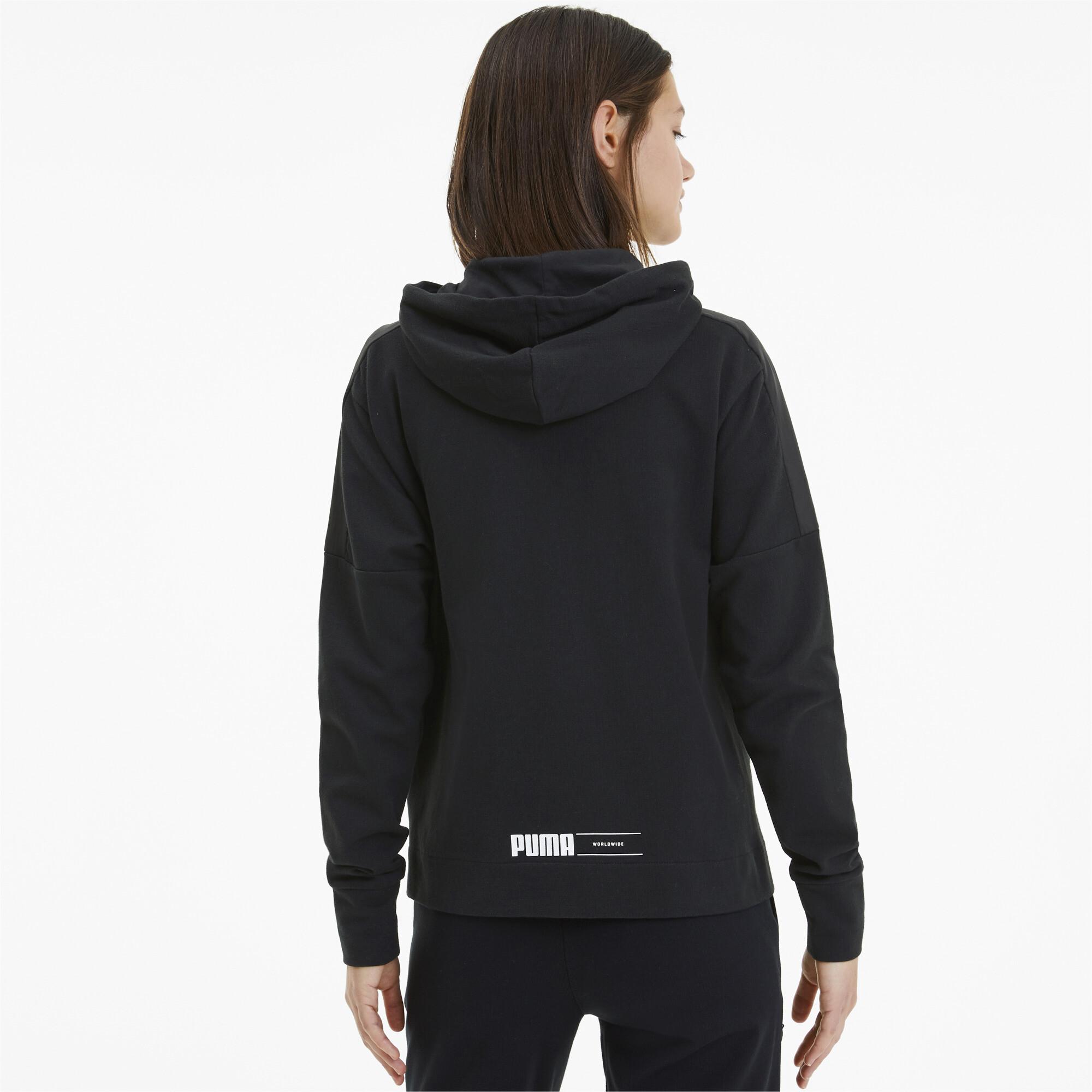 PUMA-NU-TILITY-Women-039-s-Full-Zip-Hoodie-Women-Sweat-Basics miniatuur 10