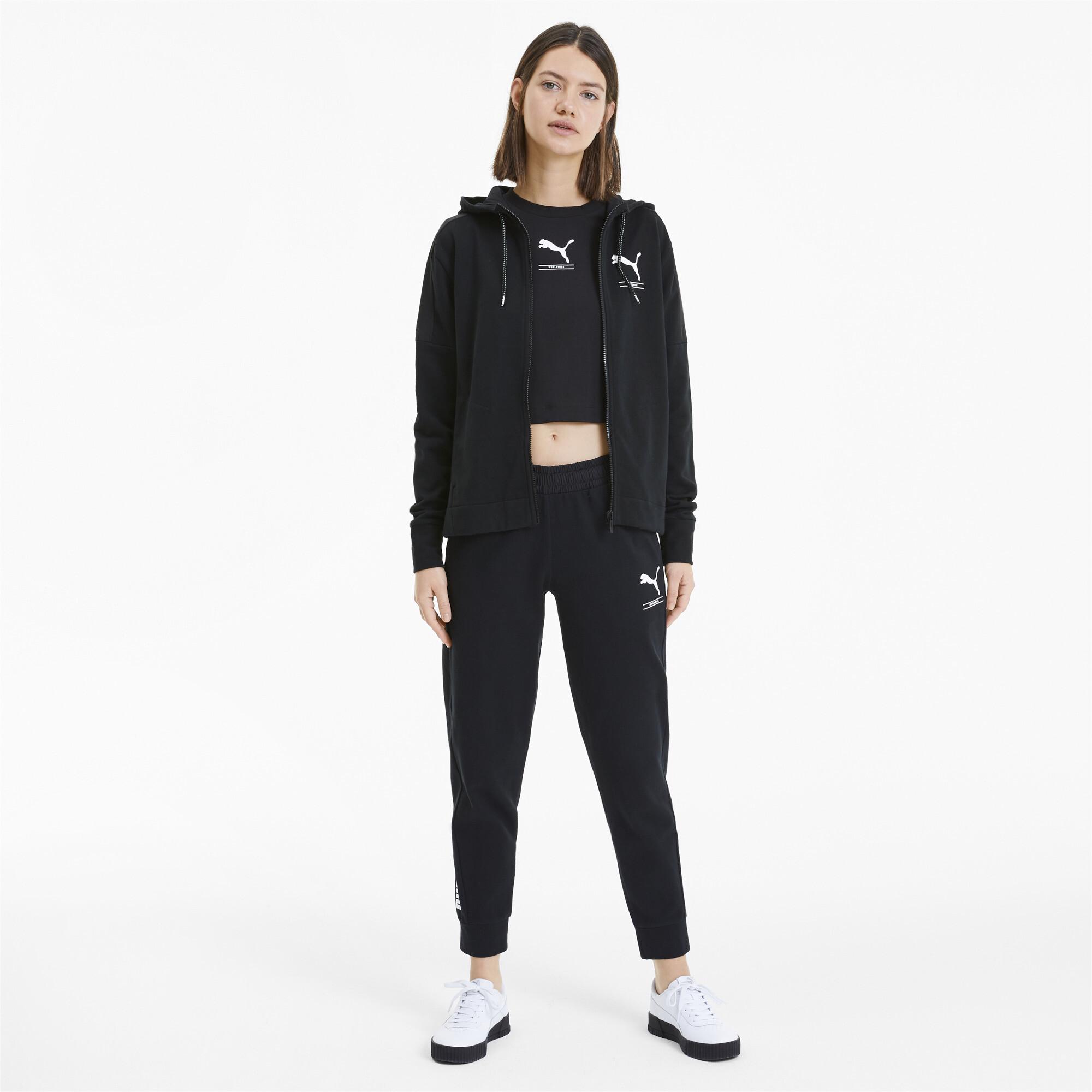 PUMA-NU-TILITY-Women-039-s-Full-Zip-Hoodie-Women-Sweat-Basics miniatuur 11