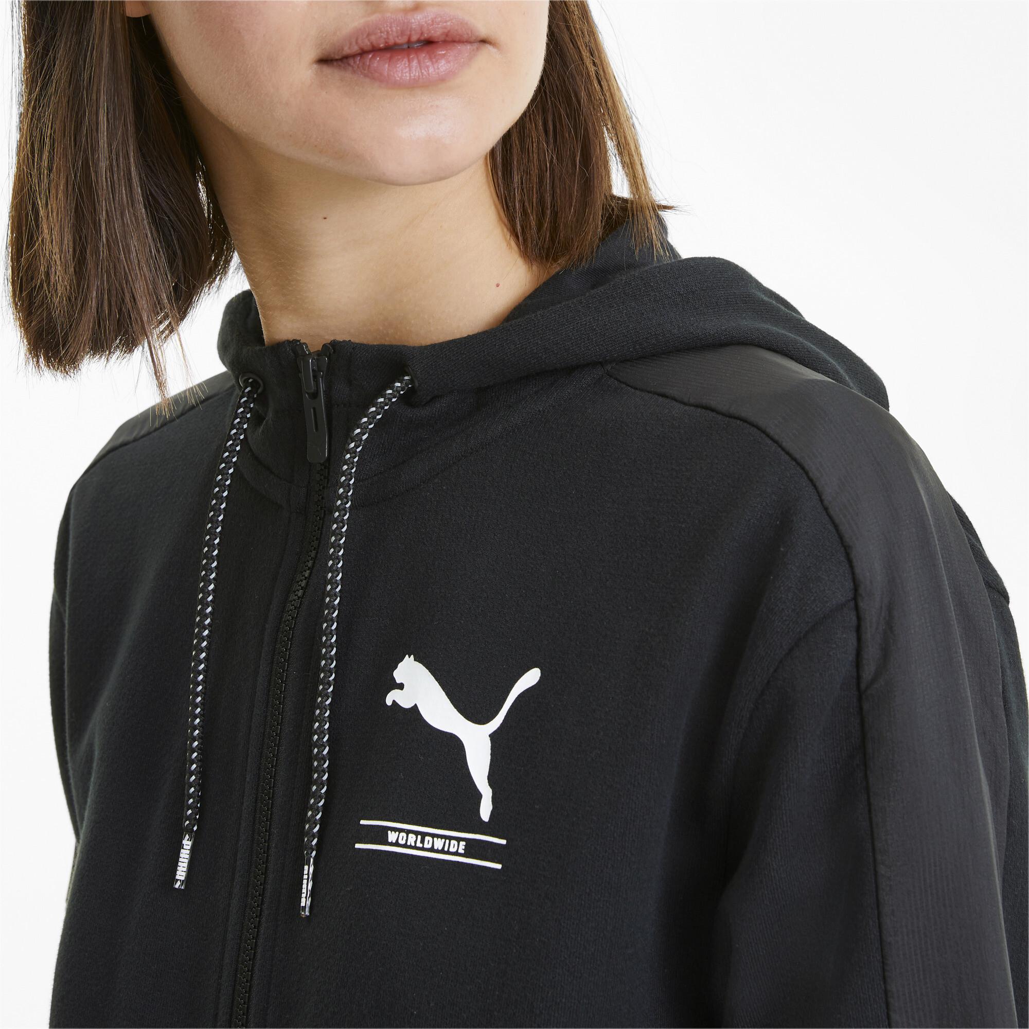 PUMA-NU-TILITY-Women-039-s-Full-Zip-Hoodie-Women-Sweat-Basics miniatuur 12