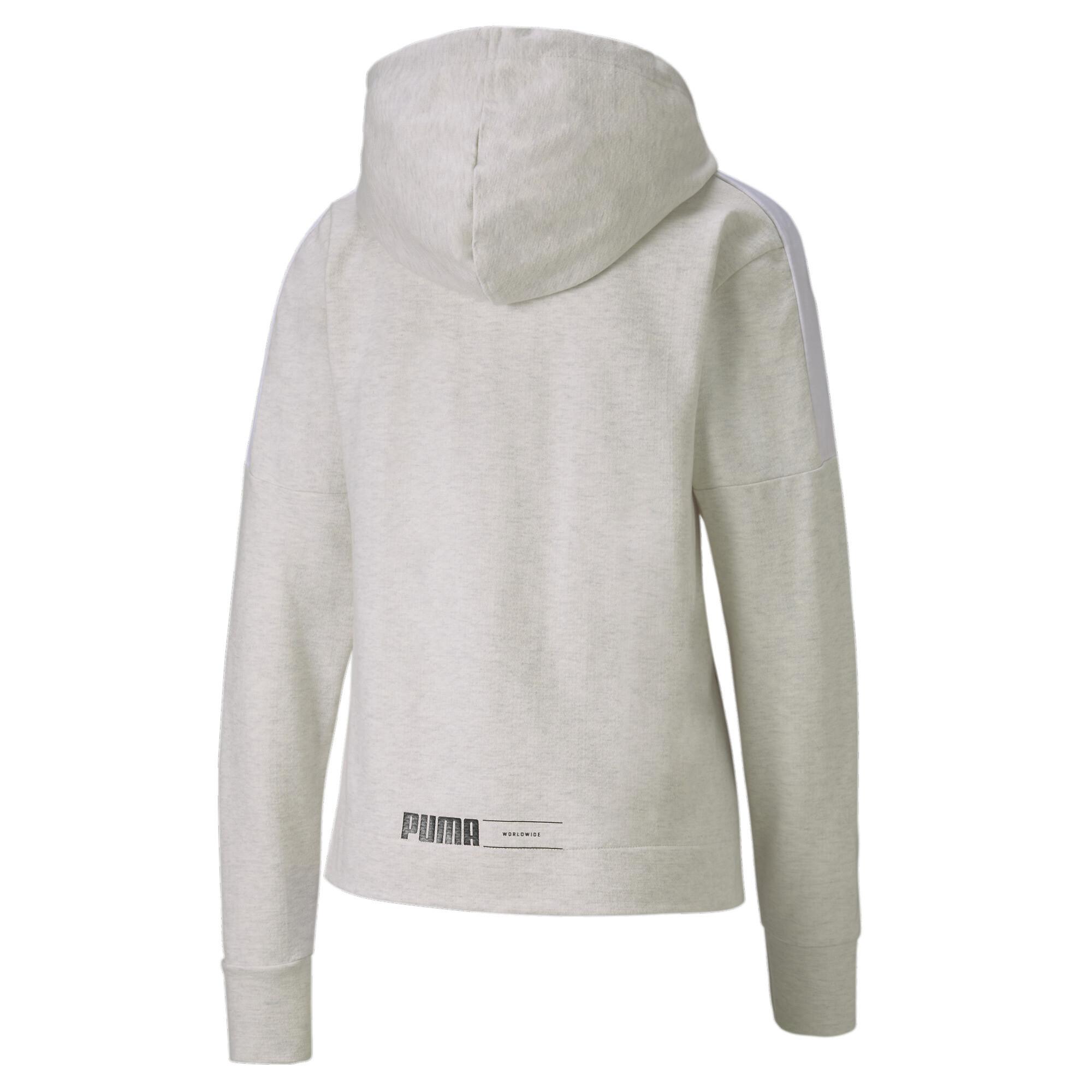 PUMA-NU-TILITY-Women-039-s-Full-Zip-Hoodie-Women-Sweat-Basics miniatuur 14