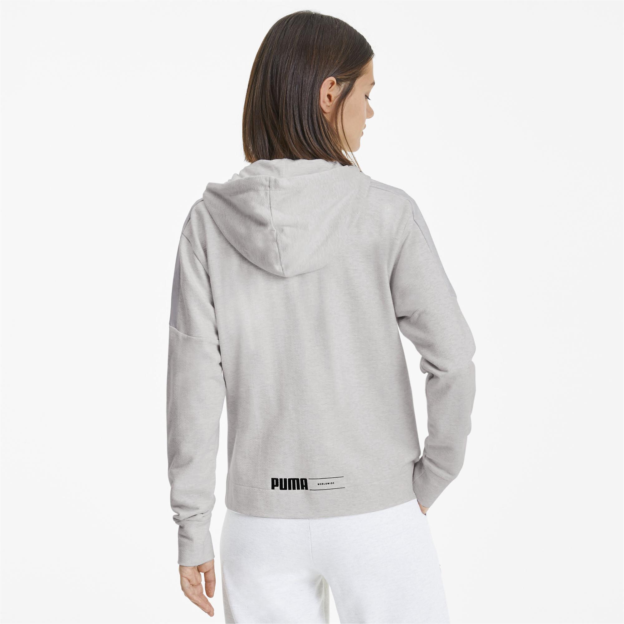 PUMA-NU-TILITY-Women-039-s-Full-Zip-Hoodie-Women-Sweat-Basics miniatuur 16